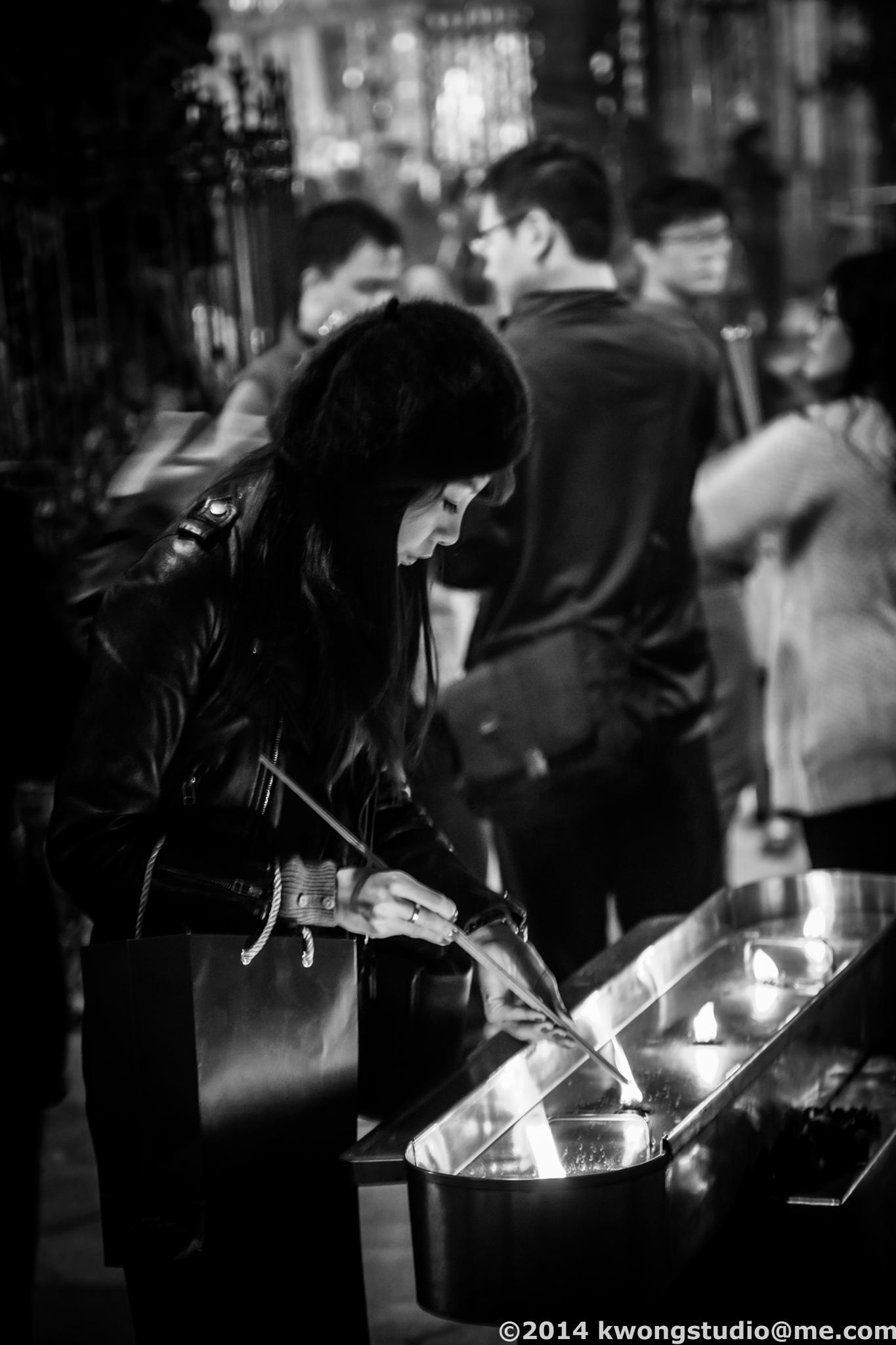 Prayer by Siu Kwong