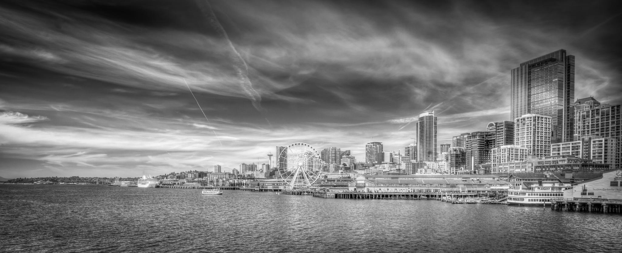 Seattle Waterfront by Ralph Resch