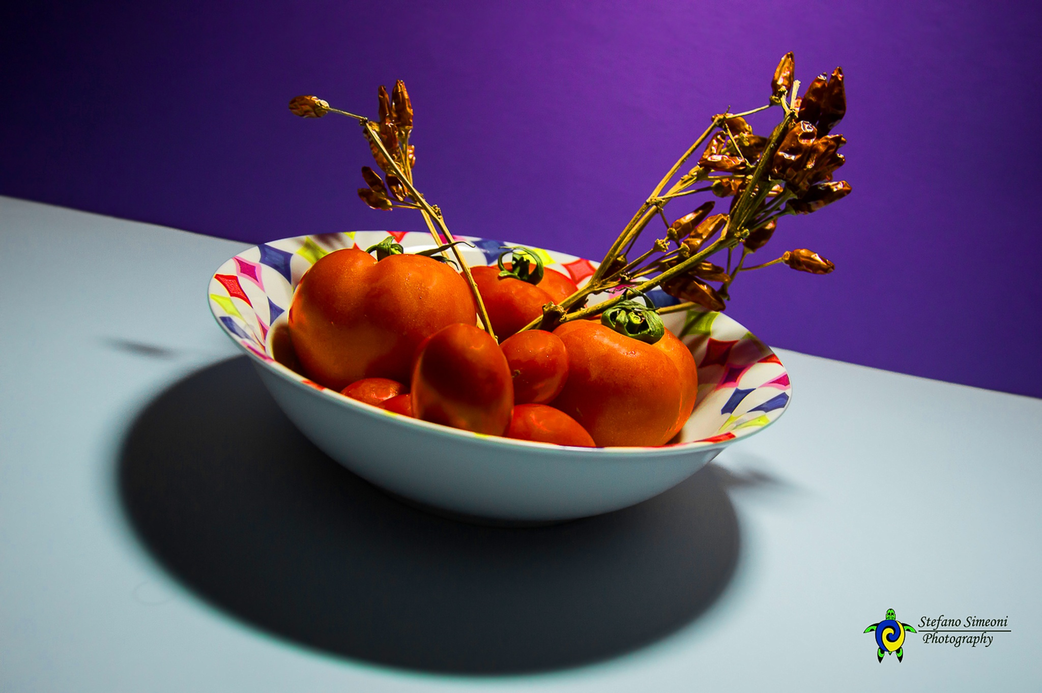 Tomatoes & Red Pepper by ssimeoni
