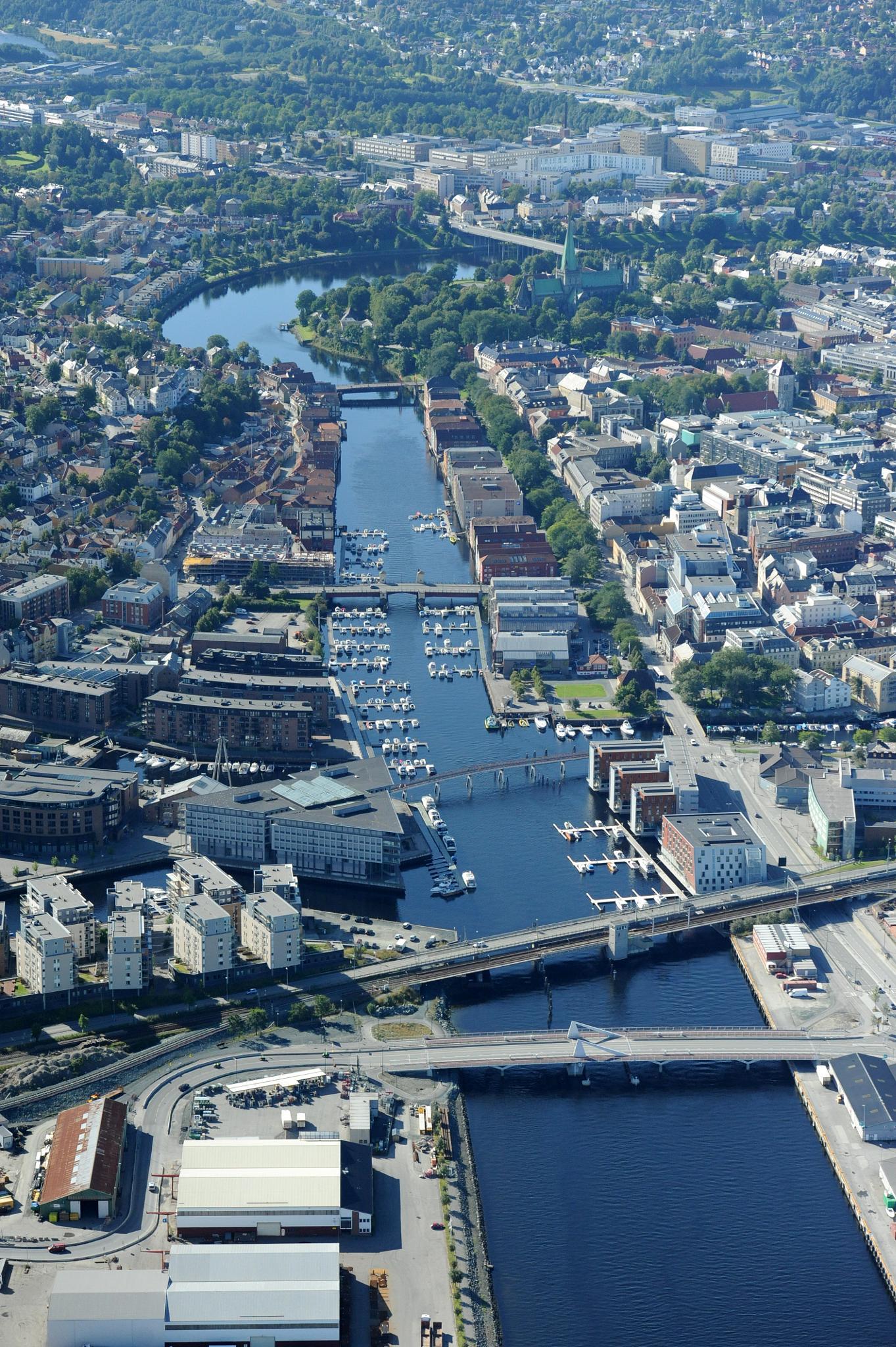 Trondheim, Norway by Lasse Tur