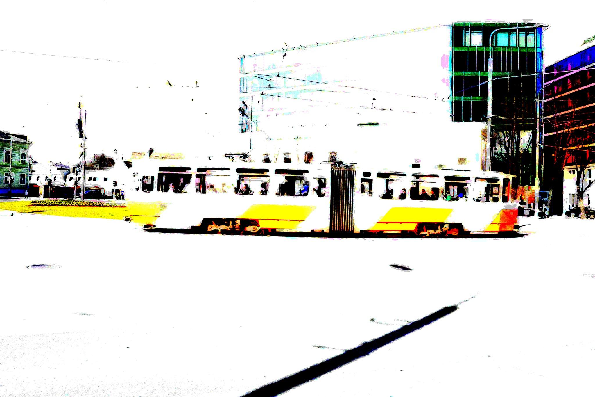 En trikk i Tallinn by Lasse Tur