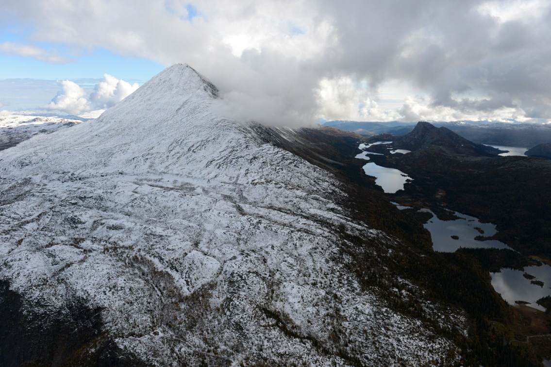 Gaustatoppen, Norge by Lasse Tur