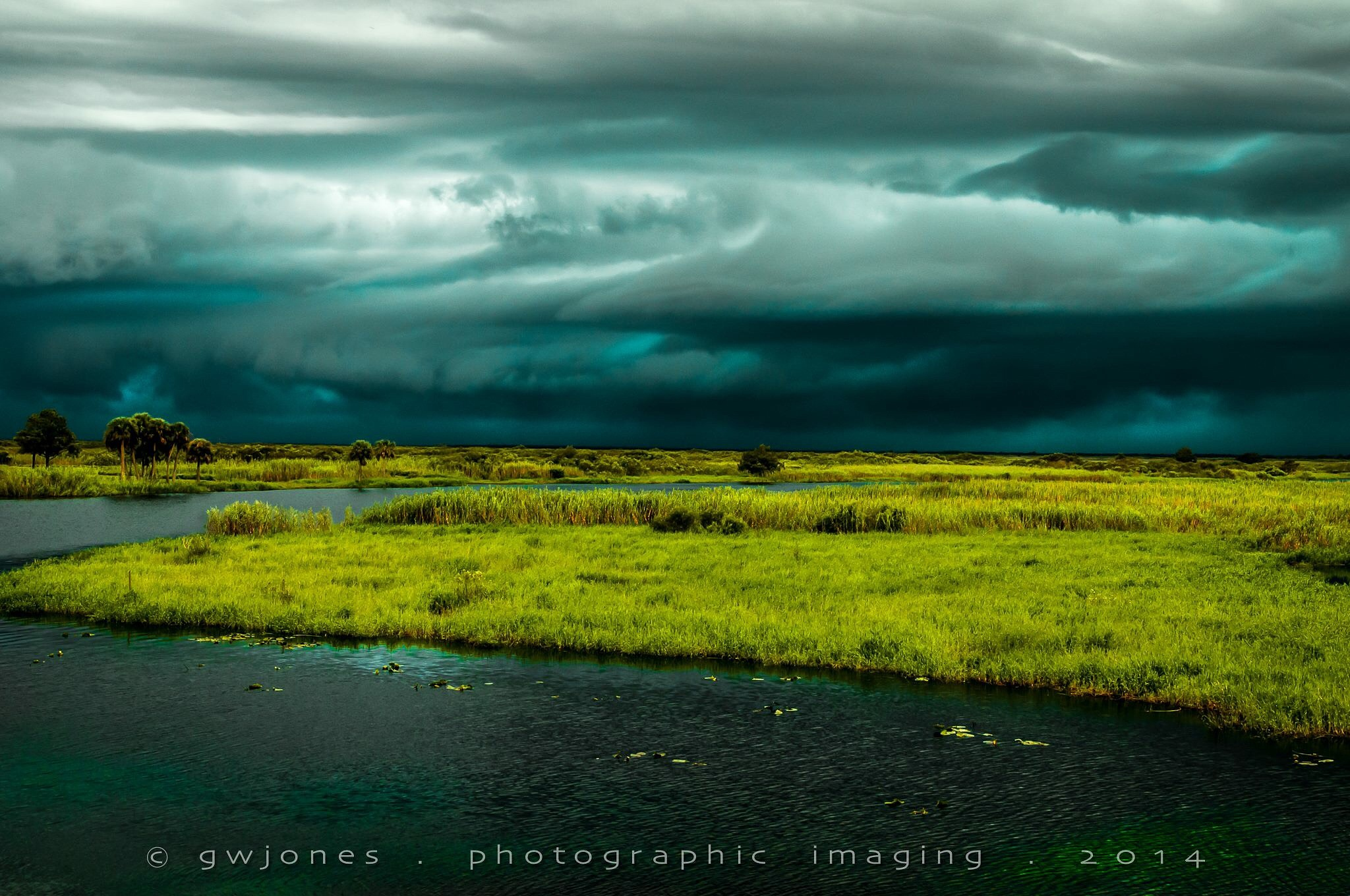 Storm over the St. Johns River by gwjones317