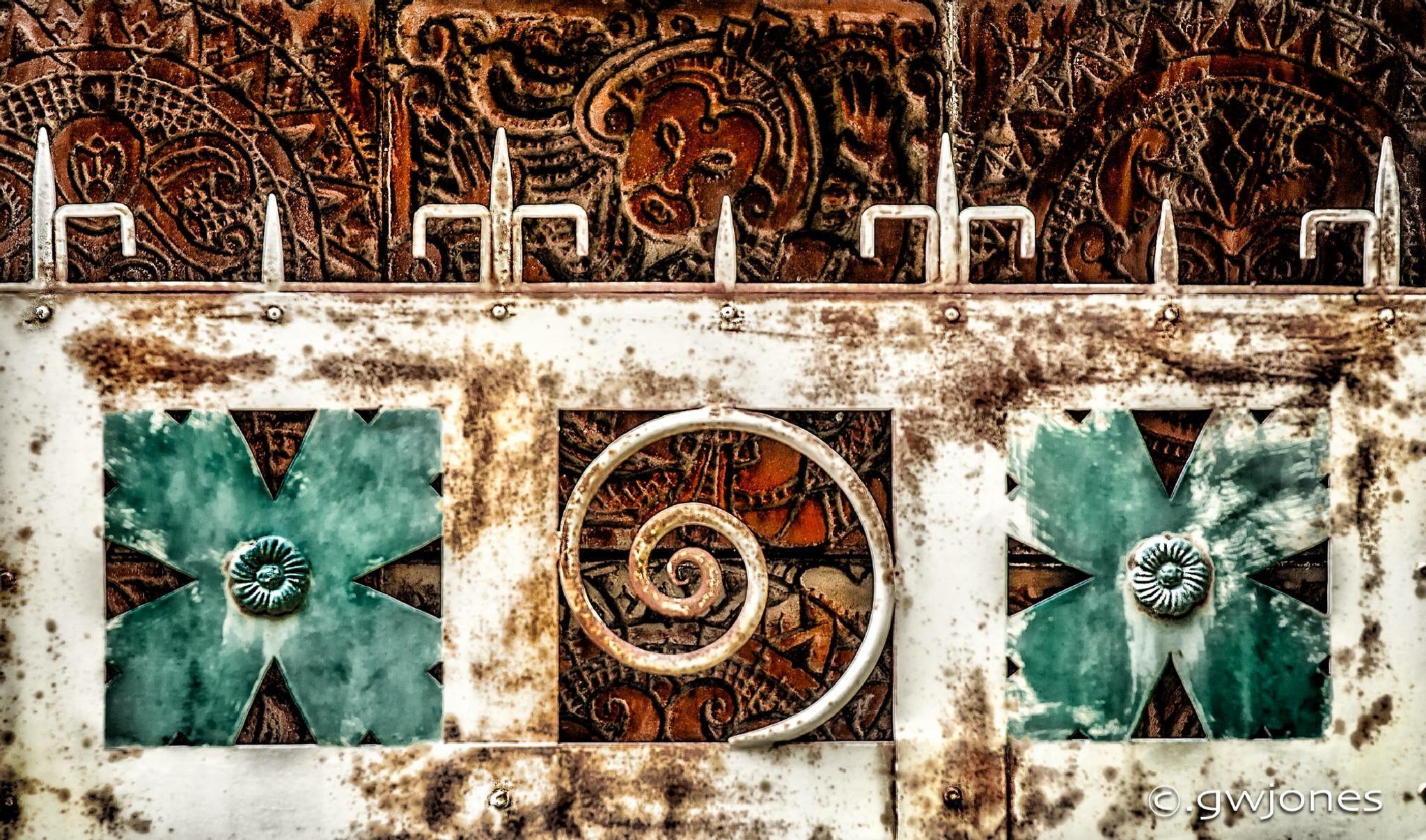 Mayan Gate by gwjones317