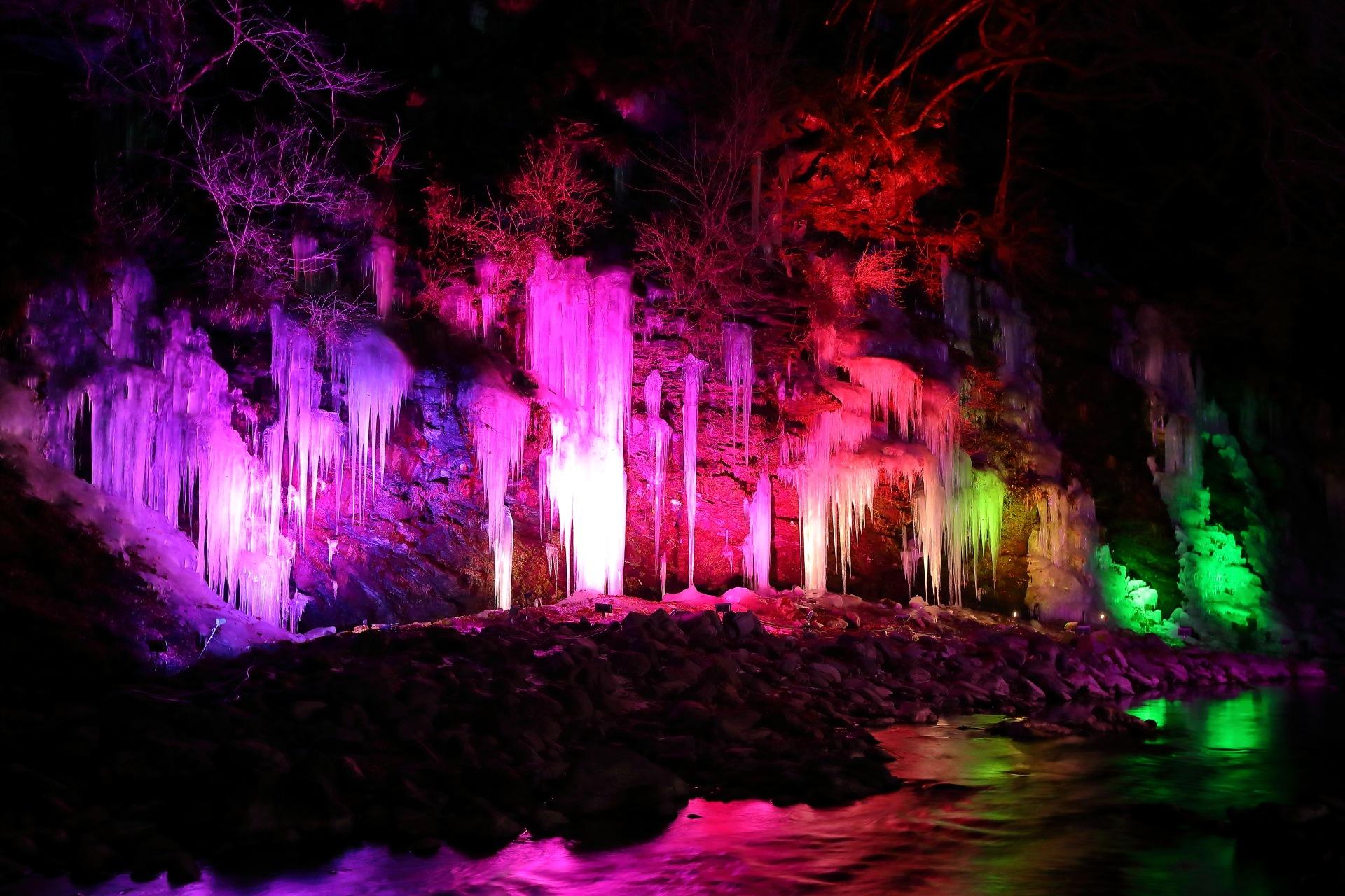 Photo in Landscape #icicle #misotsuchi #chichibu