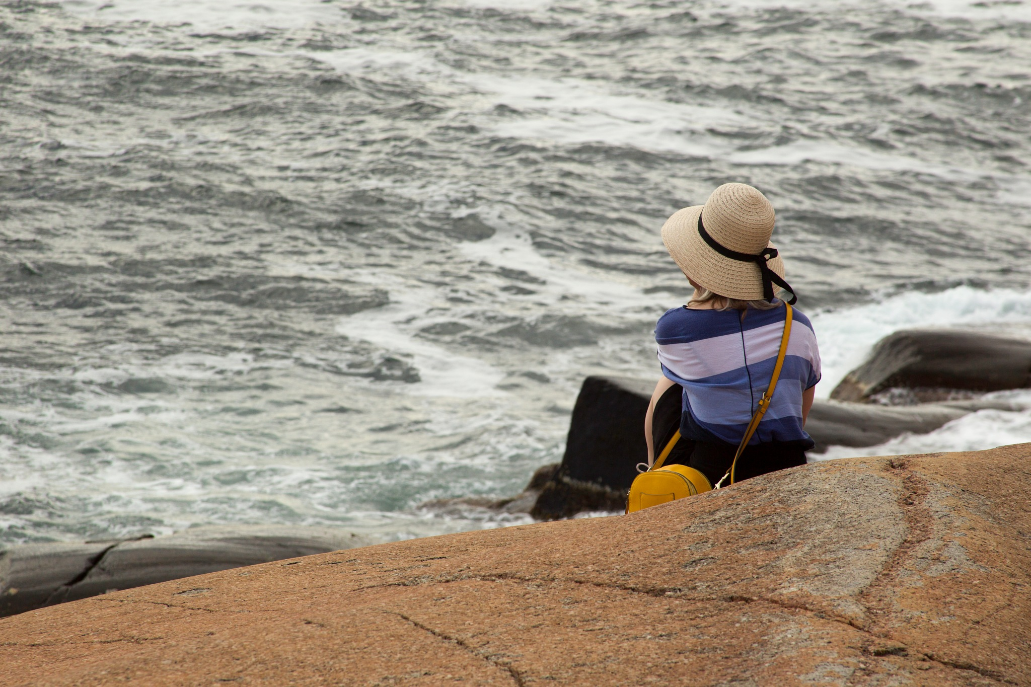 Peaceful time by the ocean by sveinsen