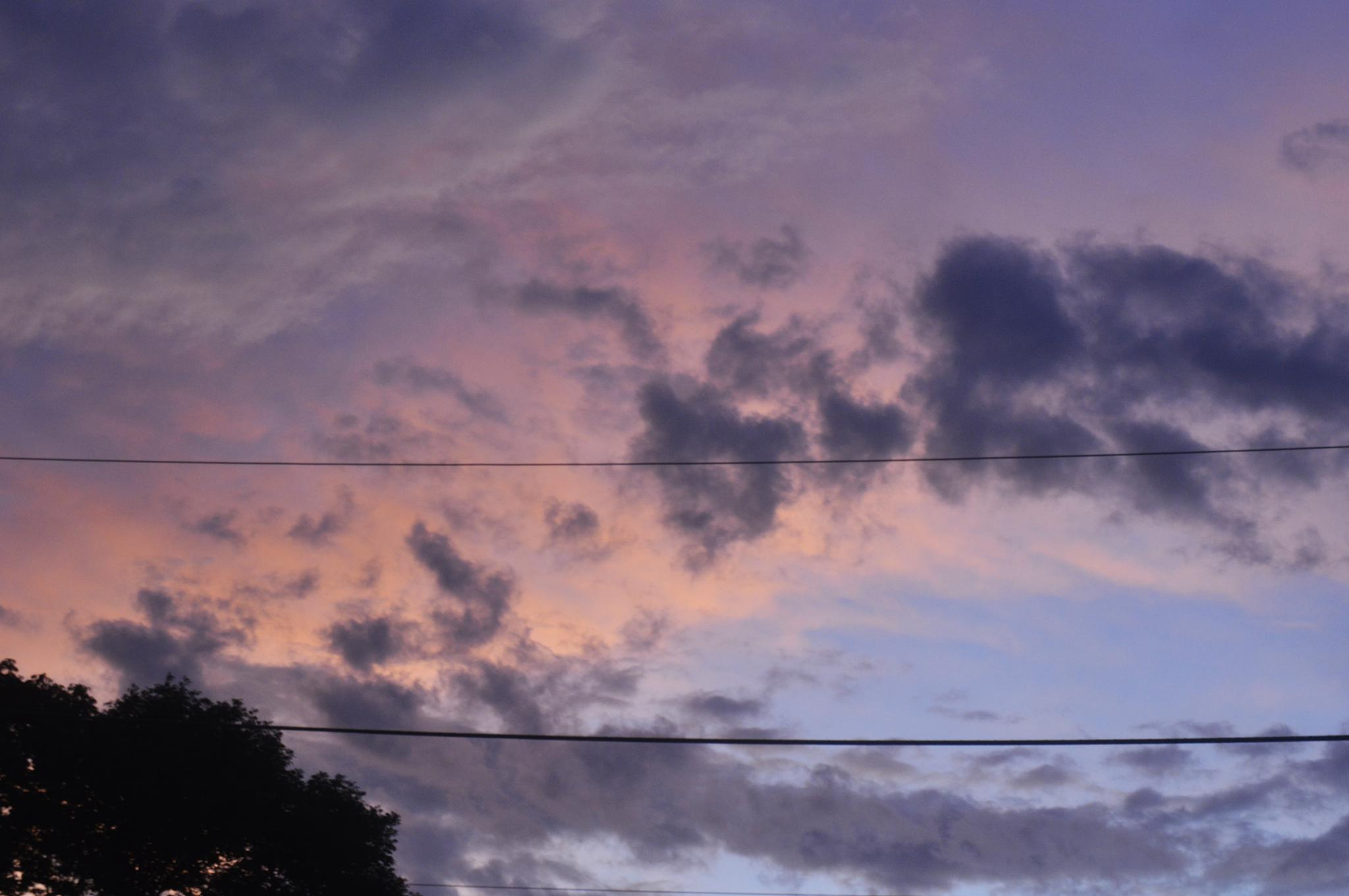 Sky at Sunset by michael.alexandersr