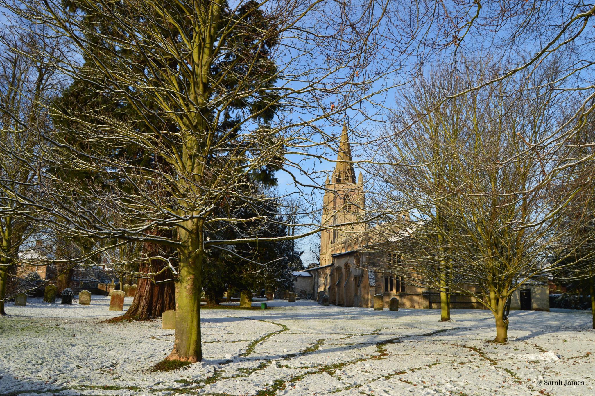 Walsoken church 3 by Sarah James