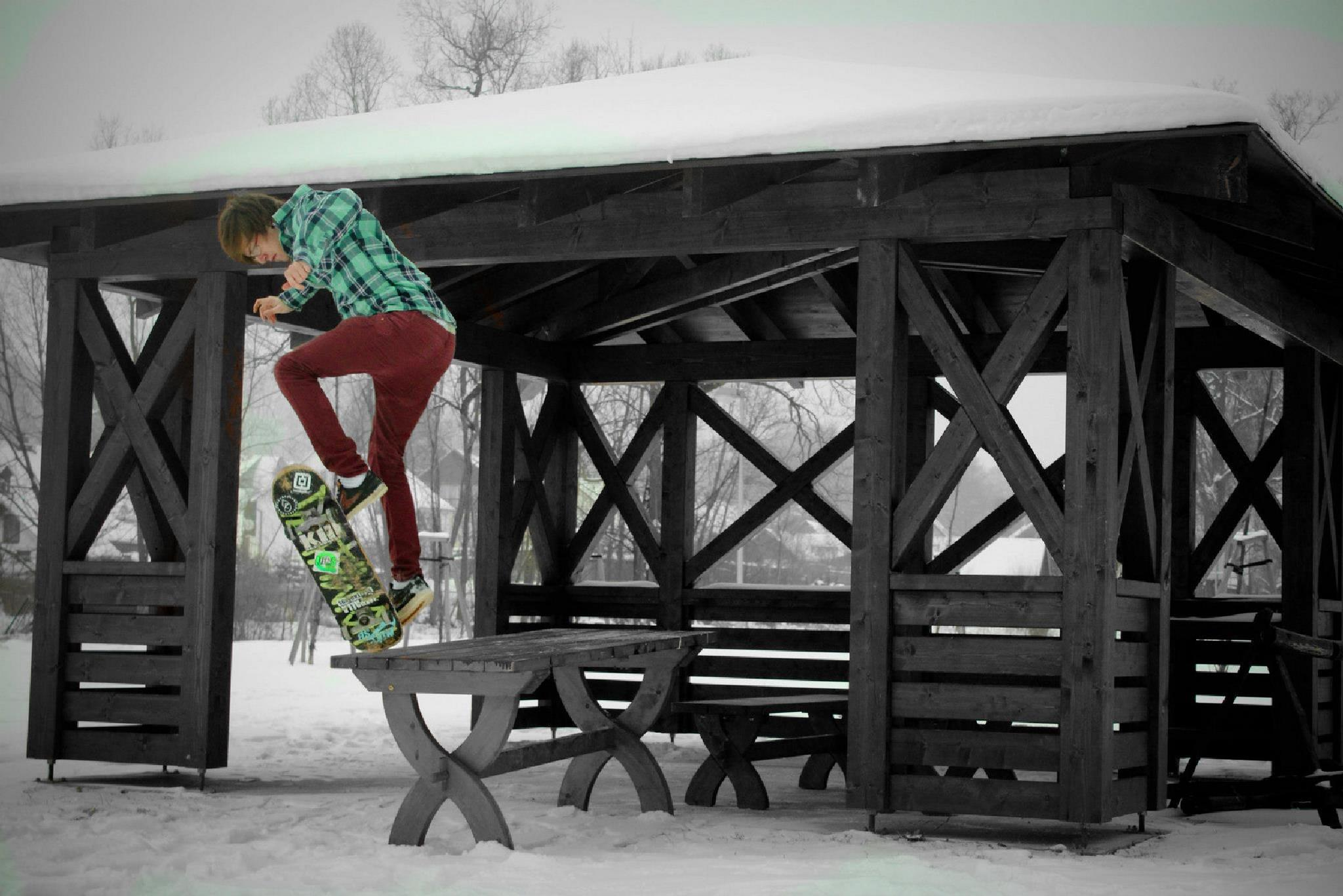 Skate and Snow by J Art of Photo