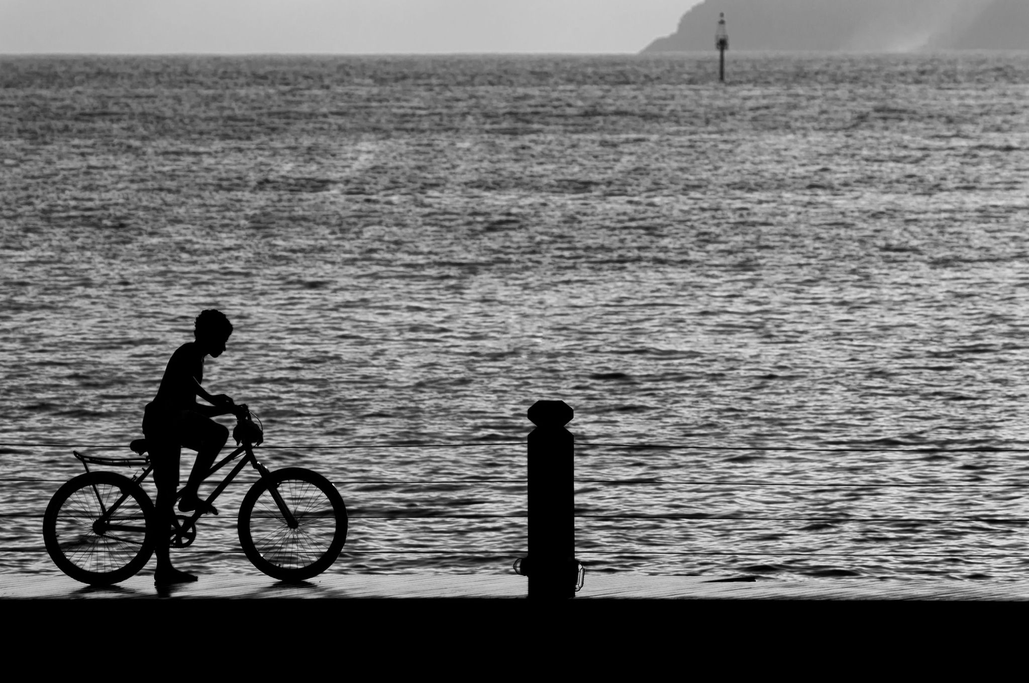 boy and bike by righetto