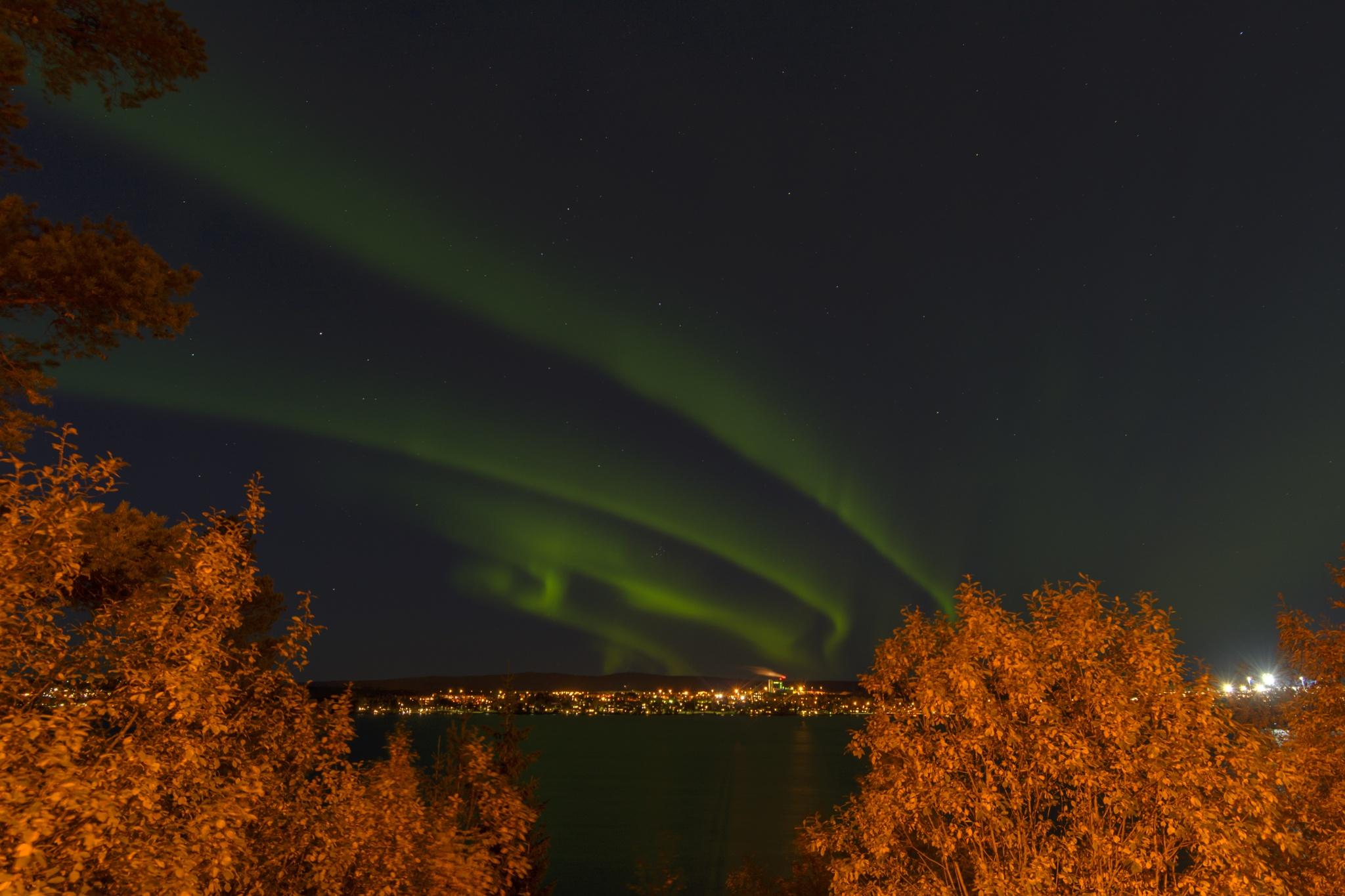 Northen light/norrsken by Pehr Åkerblom