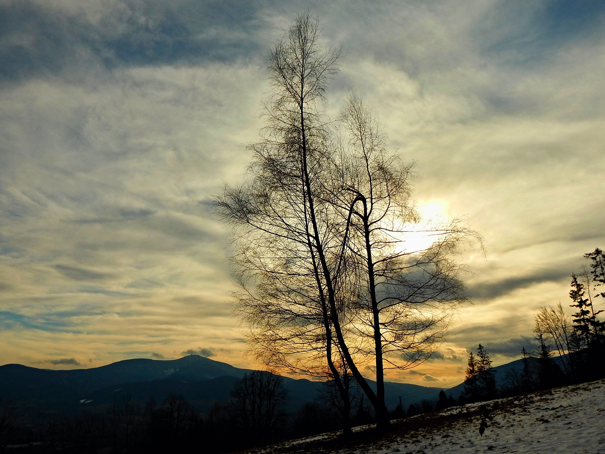 Lysa hora from Ondřejník by songerekova