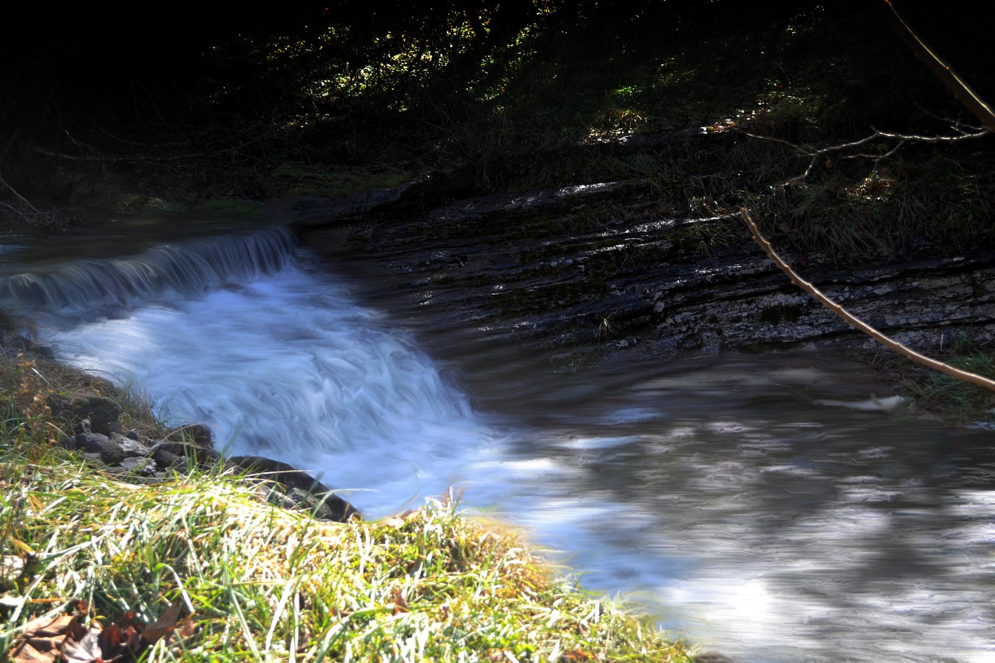 Waterfall by lindandarrell