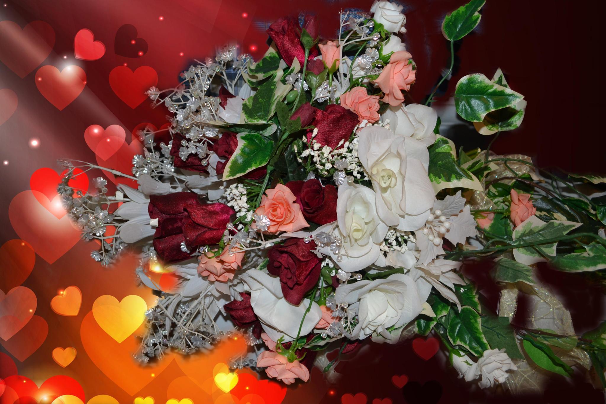 Wedding Bouquet by lindandarrell
