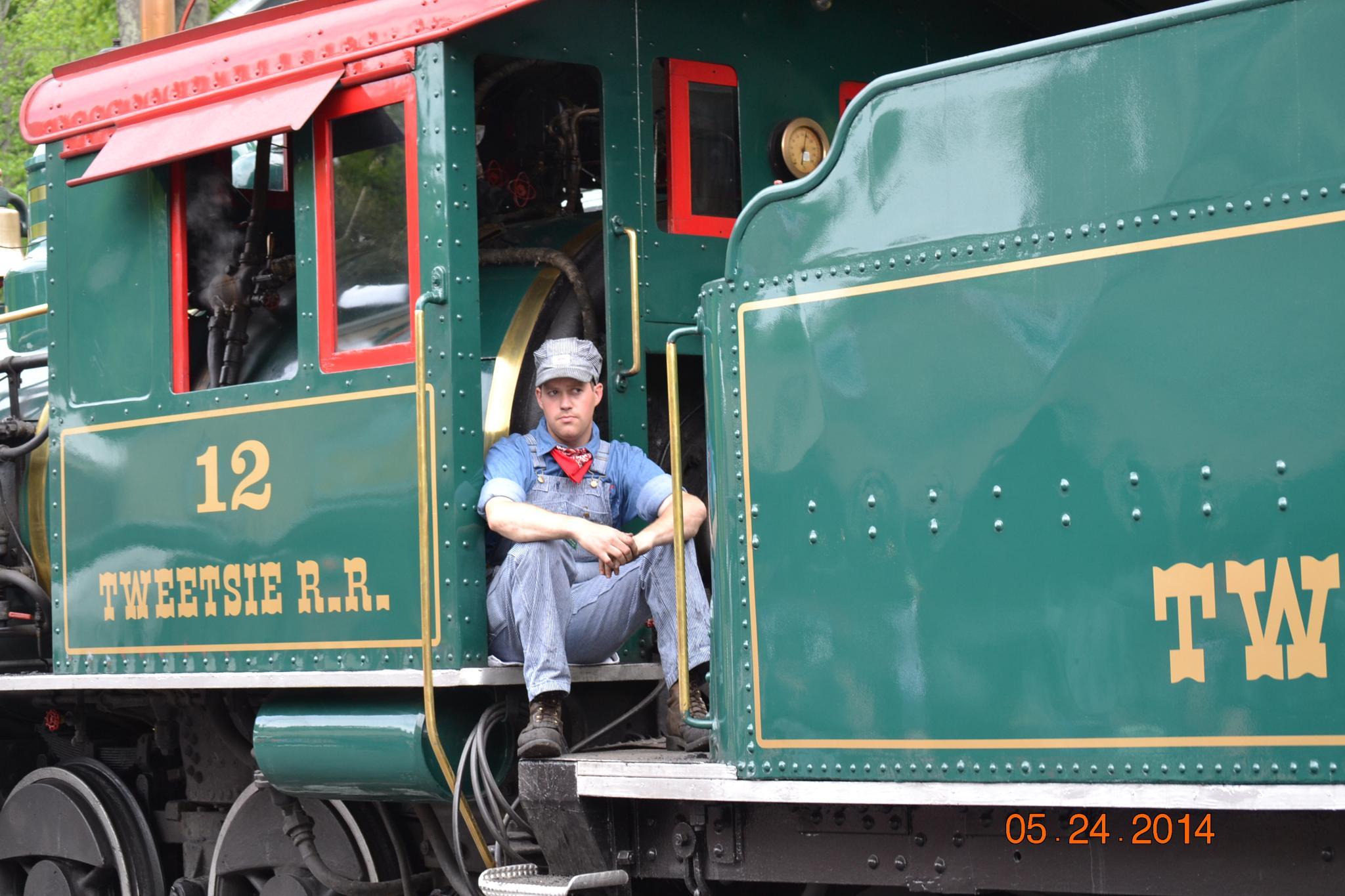 Casey Jones Train by lindandarrell