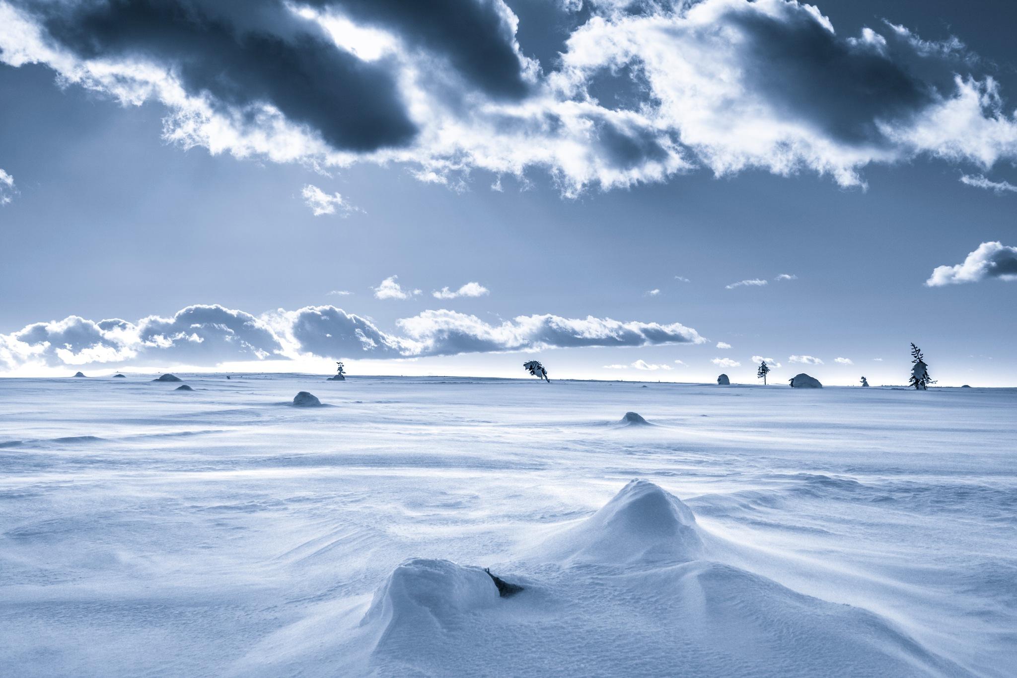 Winter landscape by Mattias Carlsson