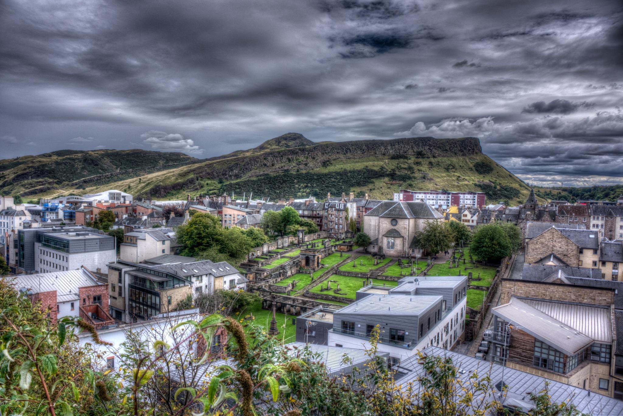 Arthur Seat, Edinburgh by lawson mcculloch