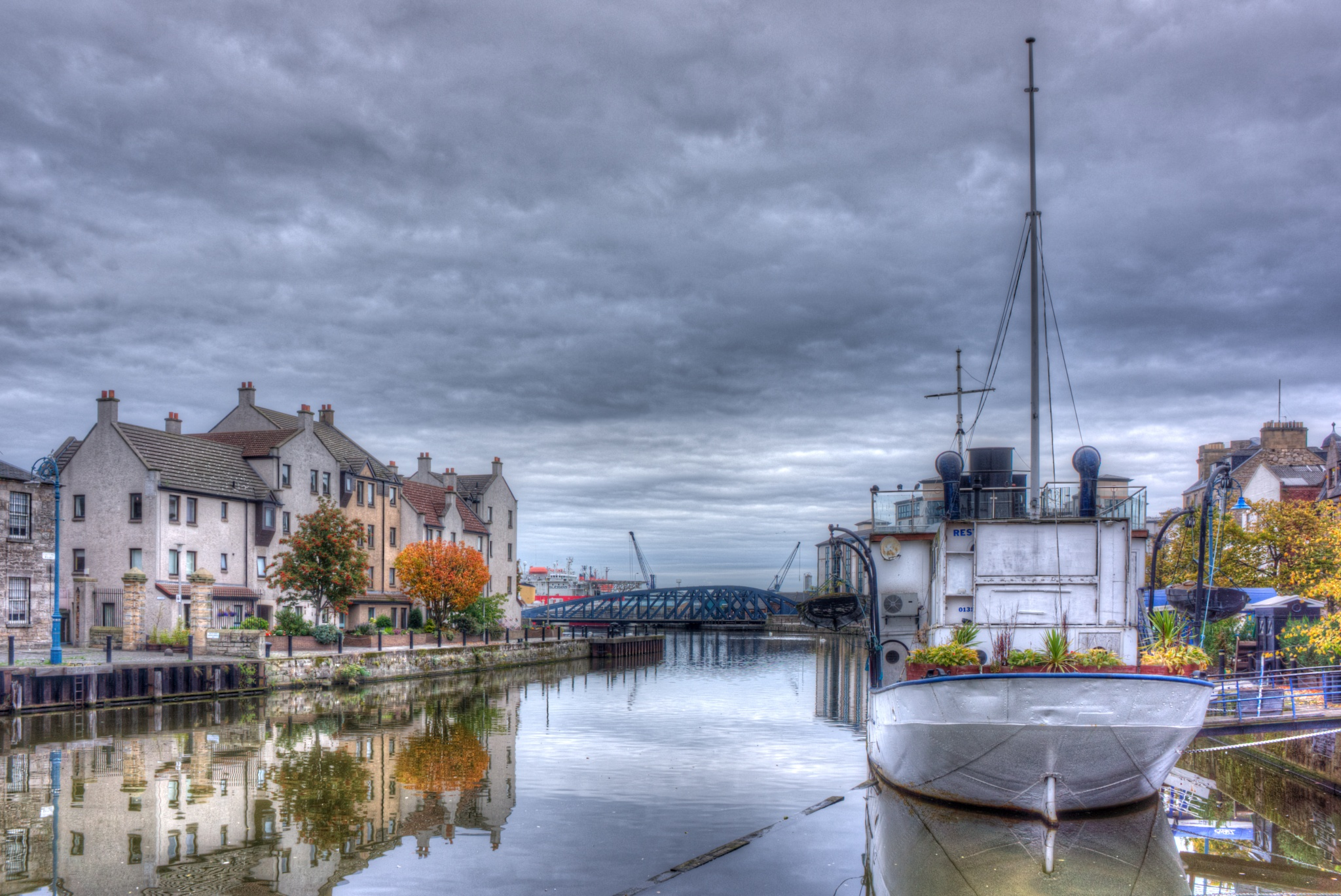 Autumn in Leith by lawson mcculloch