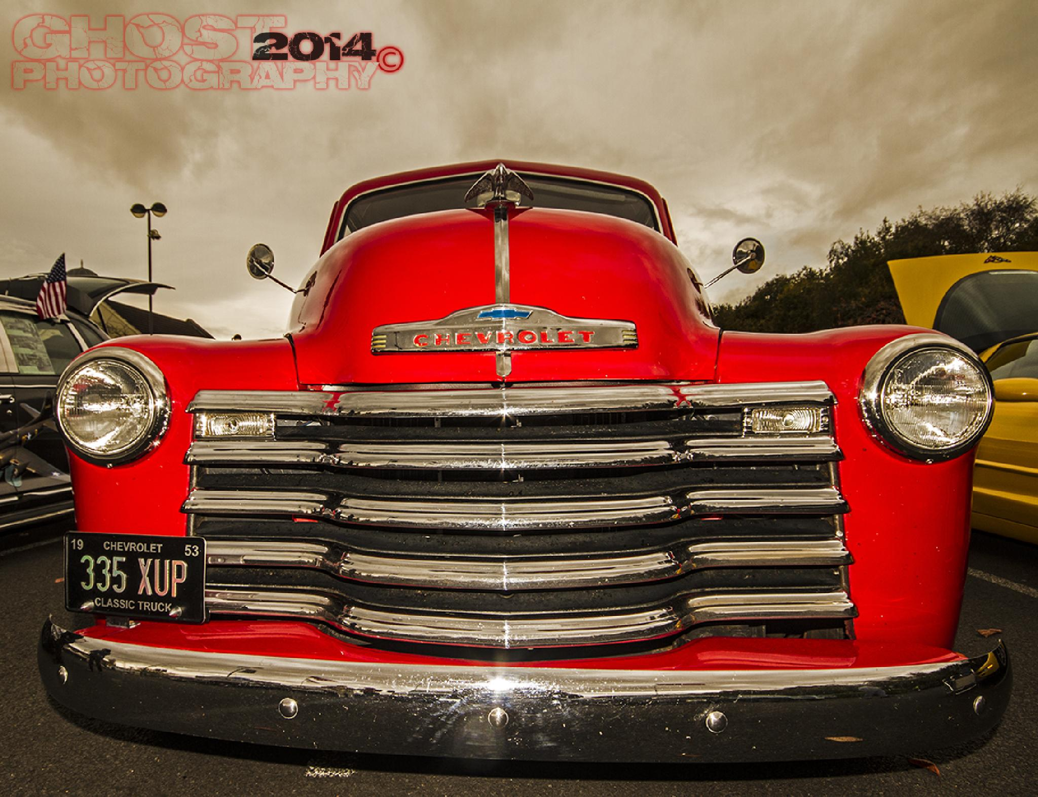 """ Big Red ""  by Ghost Photography"