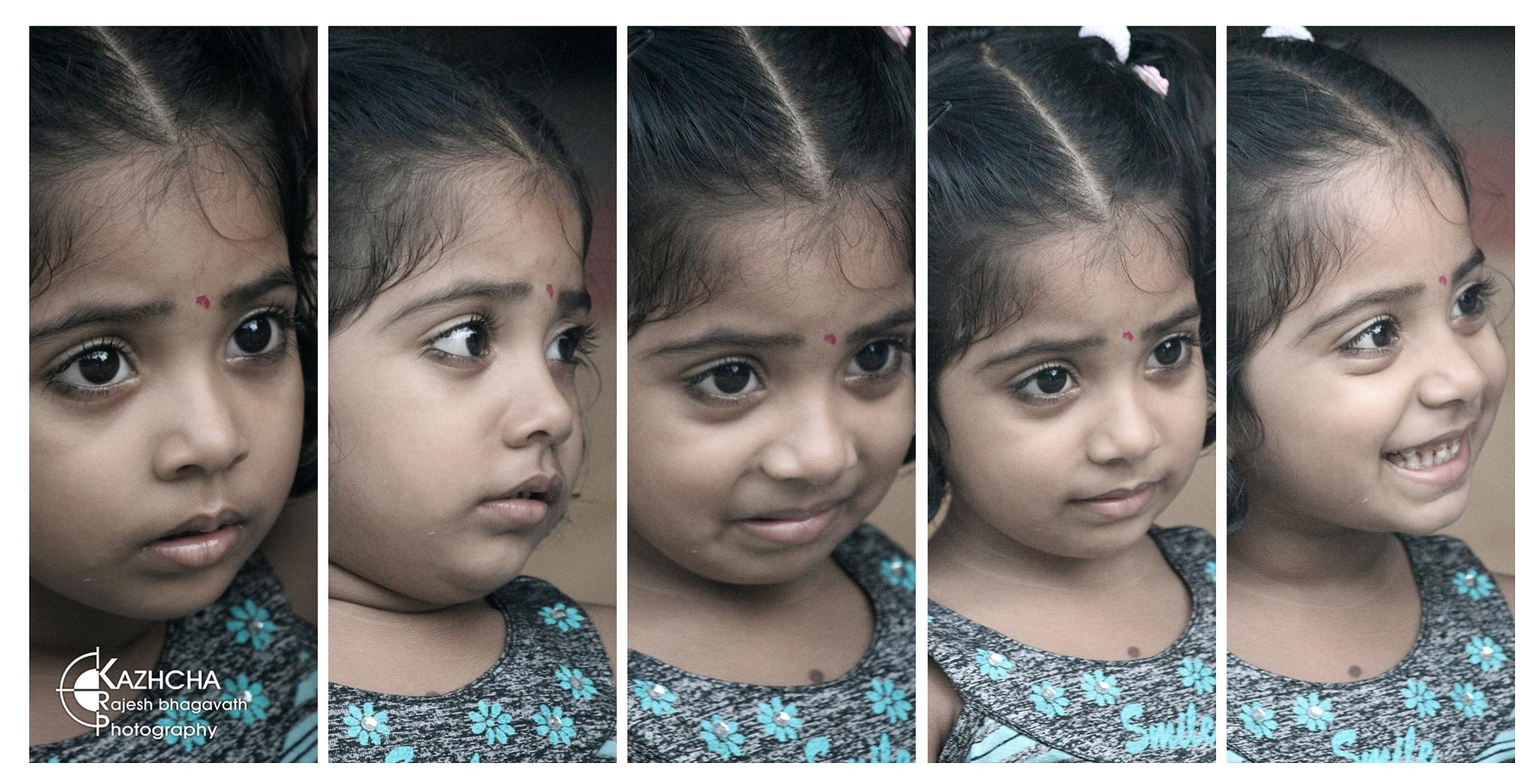 different face expressions  by  Rajesh B R Bhagavath