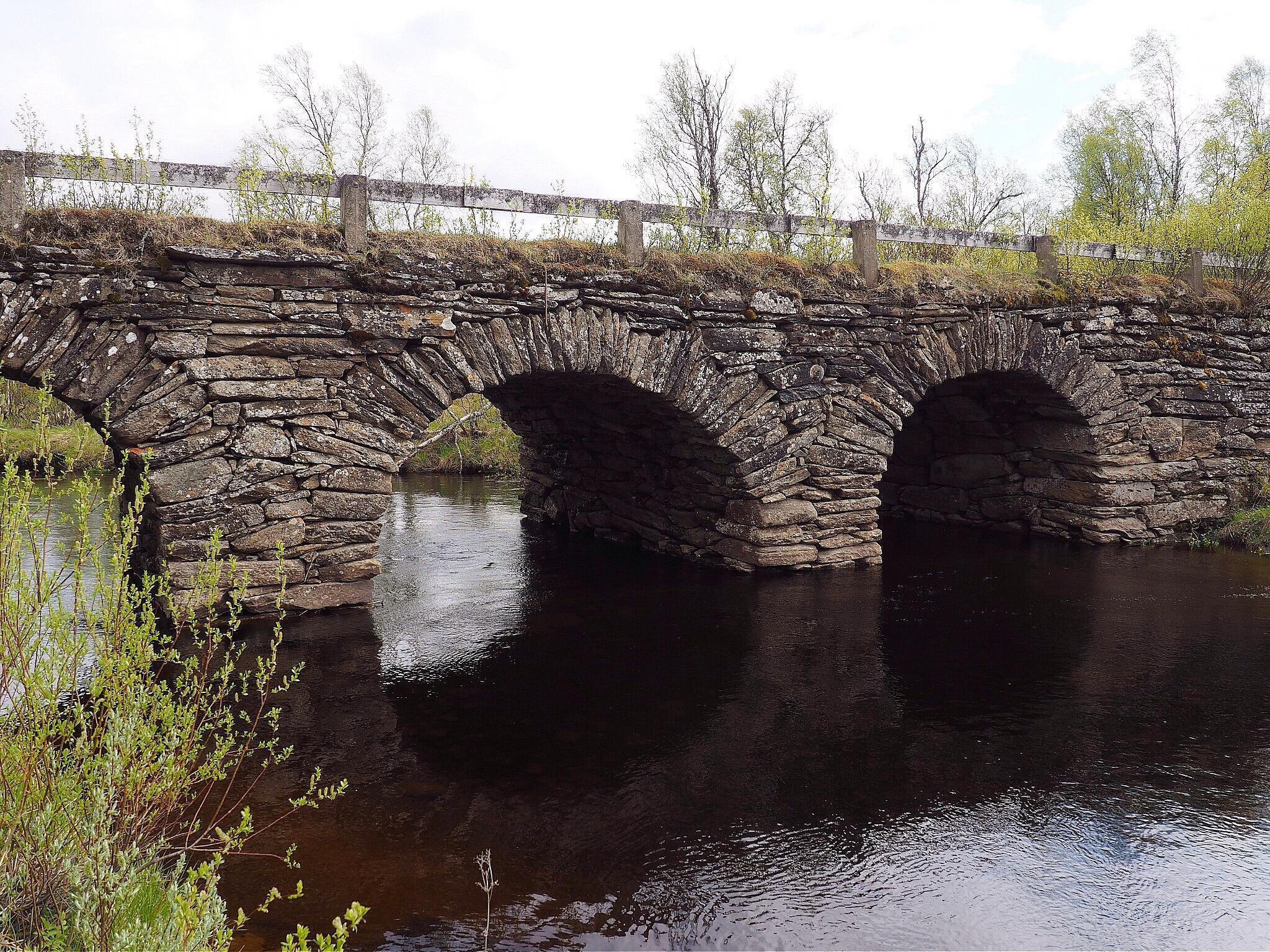 An old bridge by lundhanders