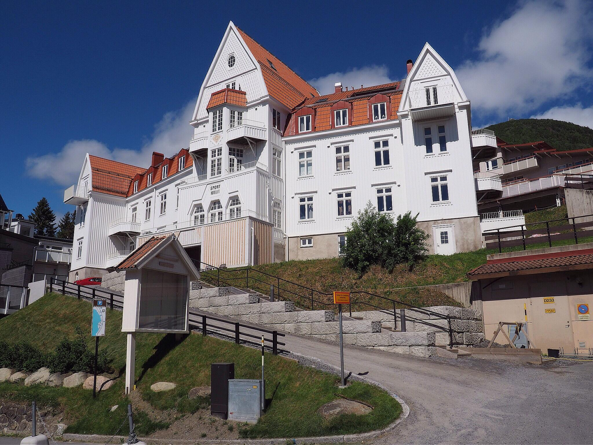 The Sport Hotel in Åre, Sweden by lundhanders