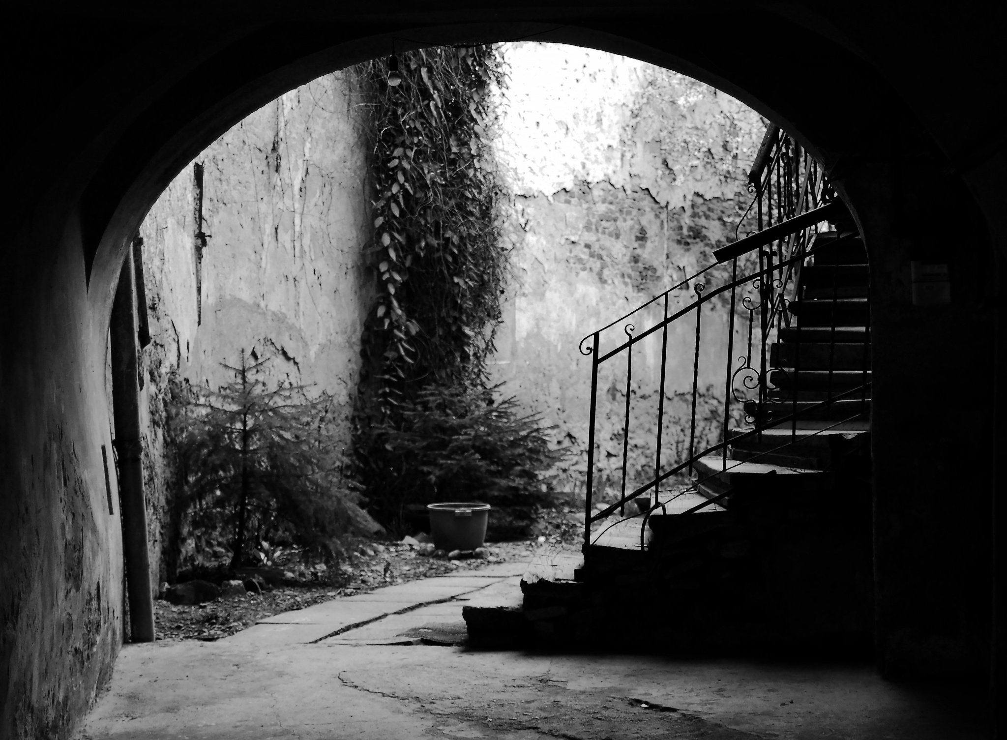 Up the Stairs by PM Kelly