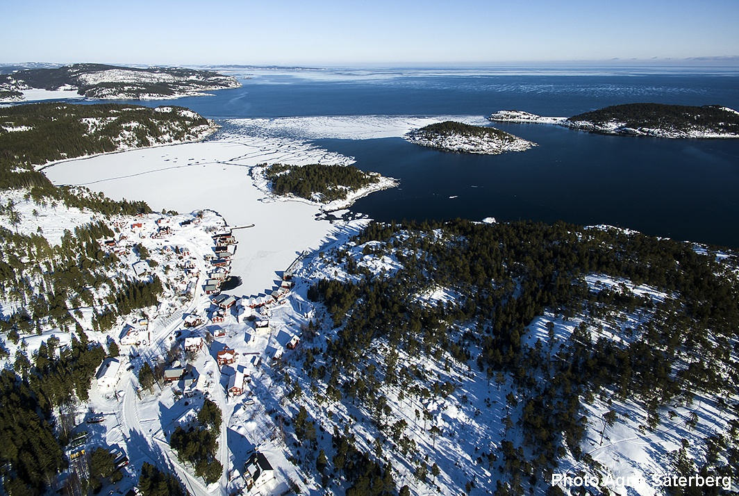 One of the High Coast World Heritage fishing villages! by Agne Säterberg