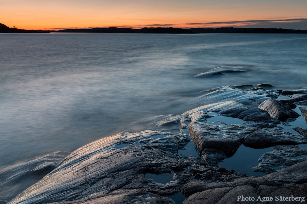 Early morning by the sea by Agne Säterberg