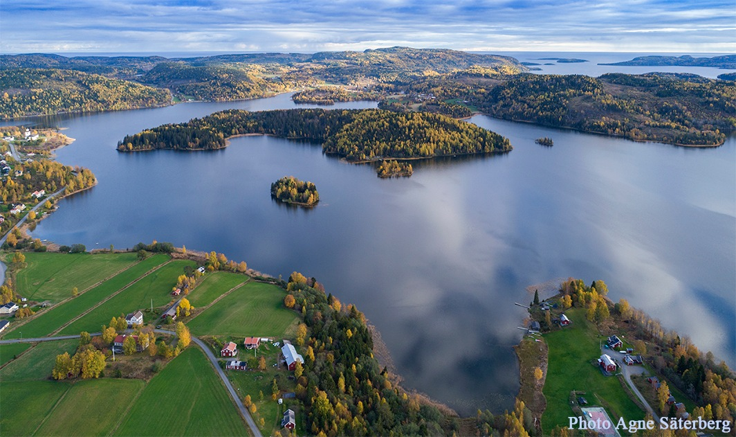 Autumn in the World Heritage Site The High Coast by Agne Säterberg