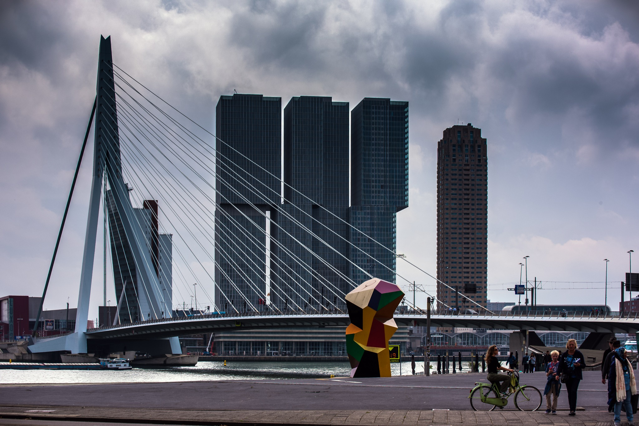 """AMI : A dutch city calls me """"Friend"""" in french.  by Oliver Brecht"""