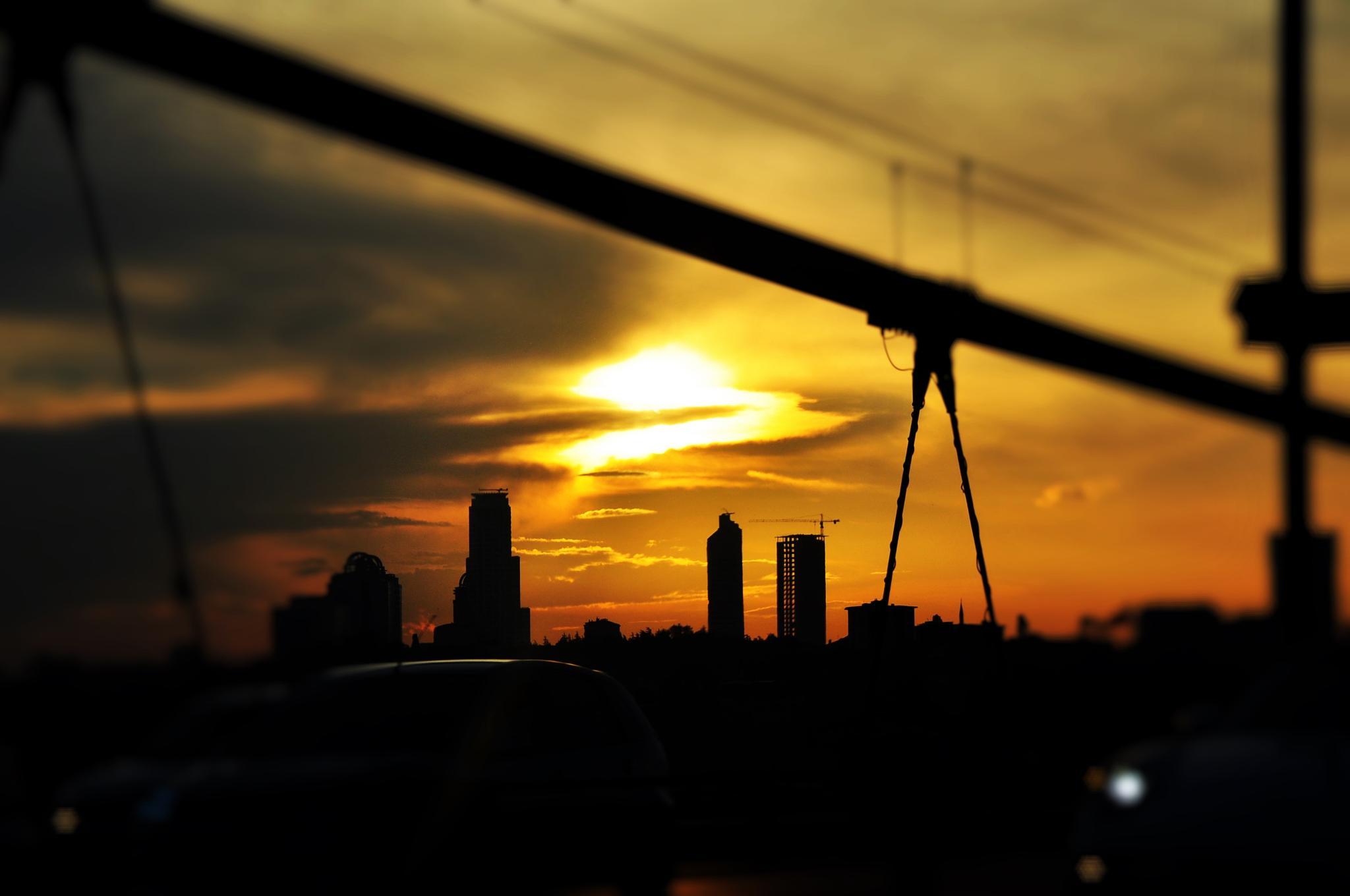 Sunset by tarikkilic