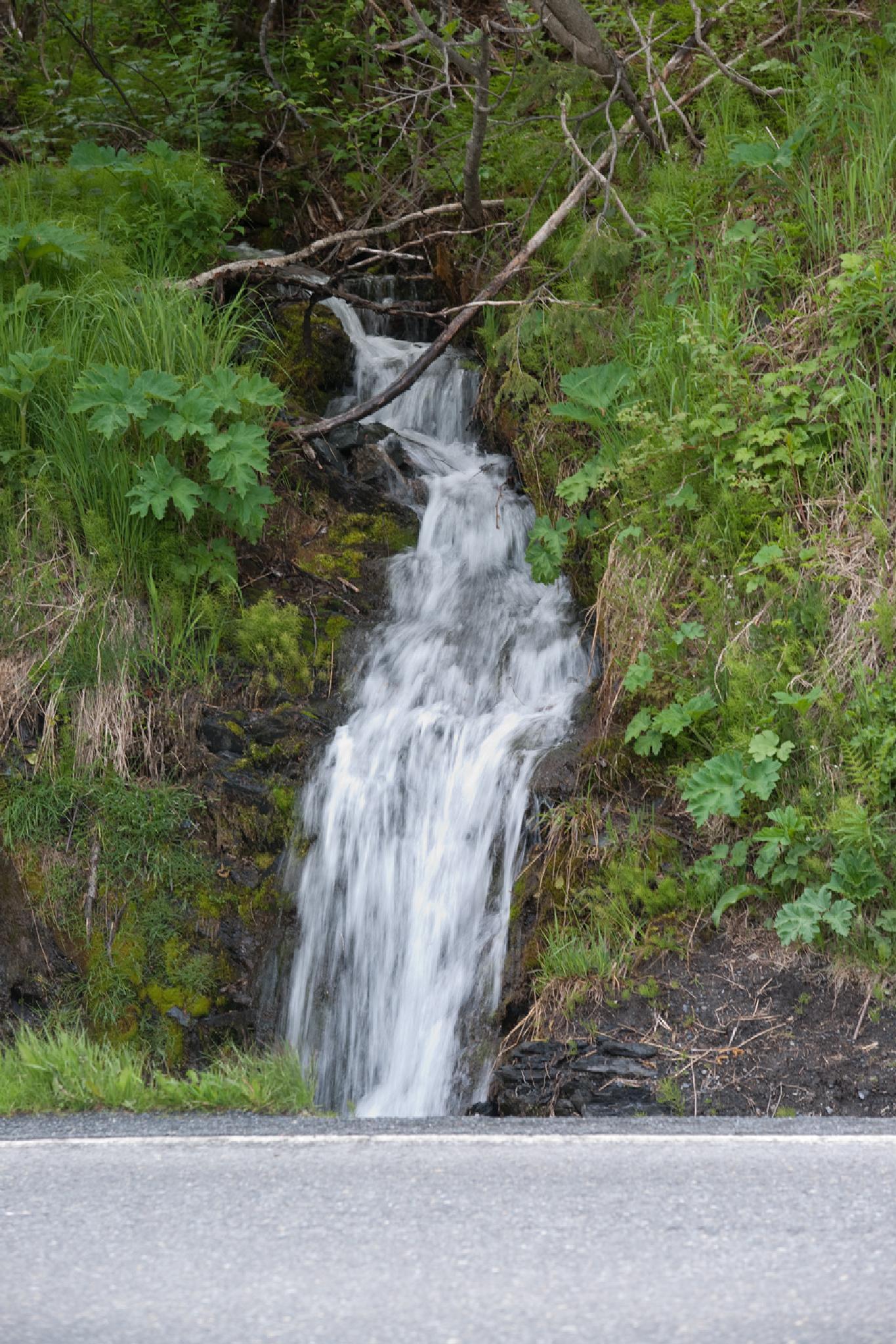 Roadside waterfall by debra.louden1