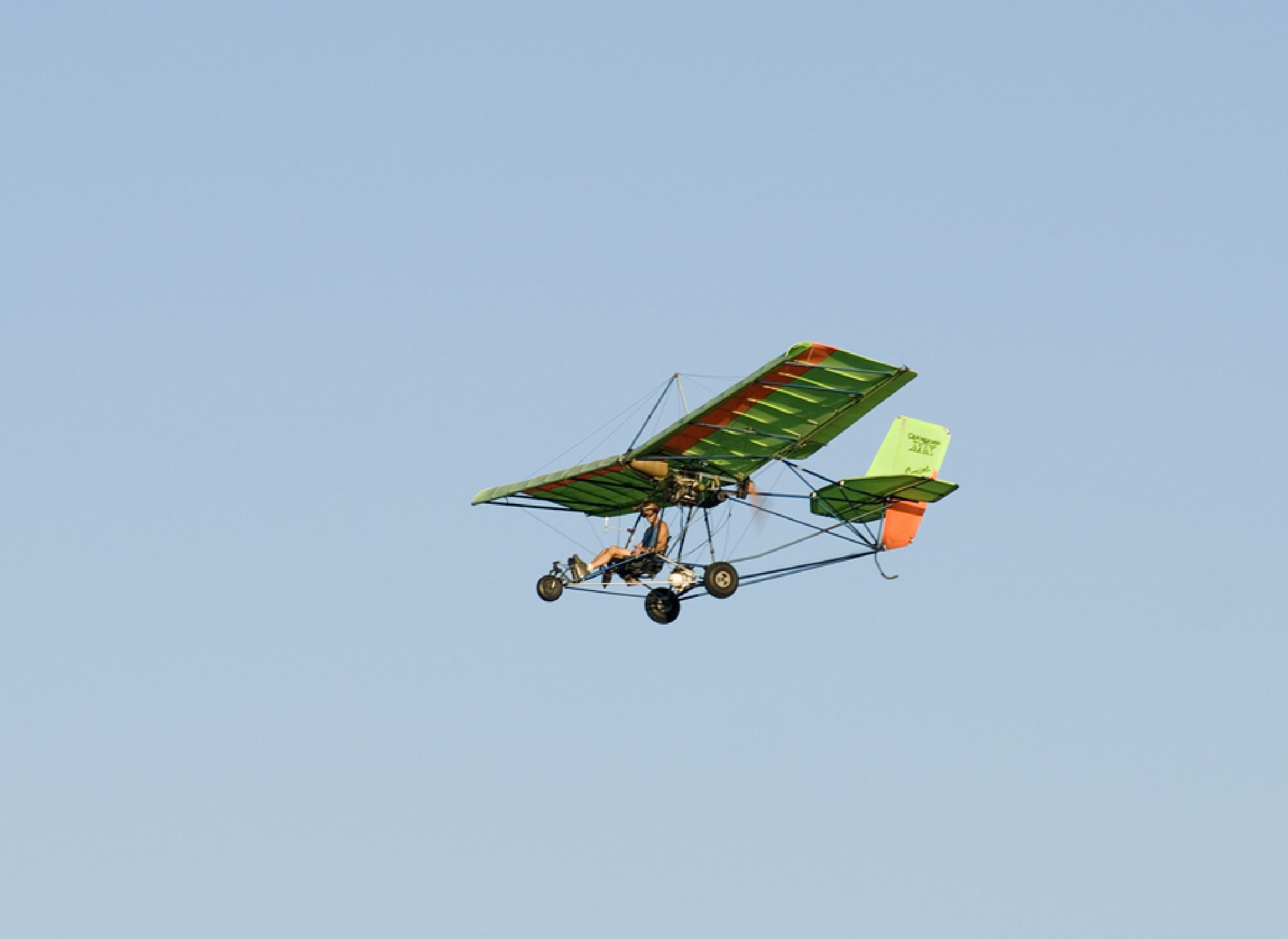 The flying lawnmower by debra.louden1