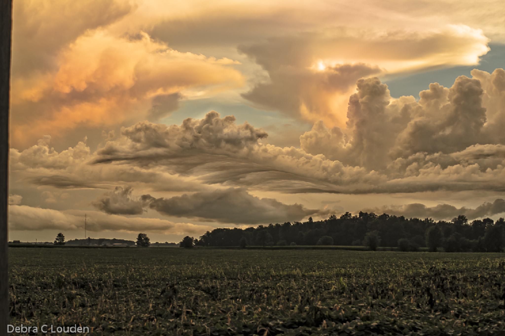 stormy sunset by debra.louden1