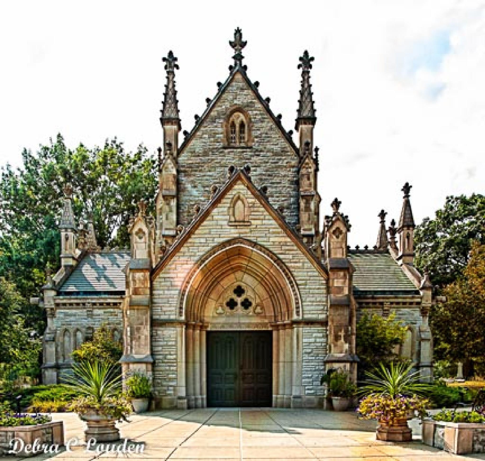 Chapel in the cemetery by debra.louden1