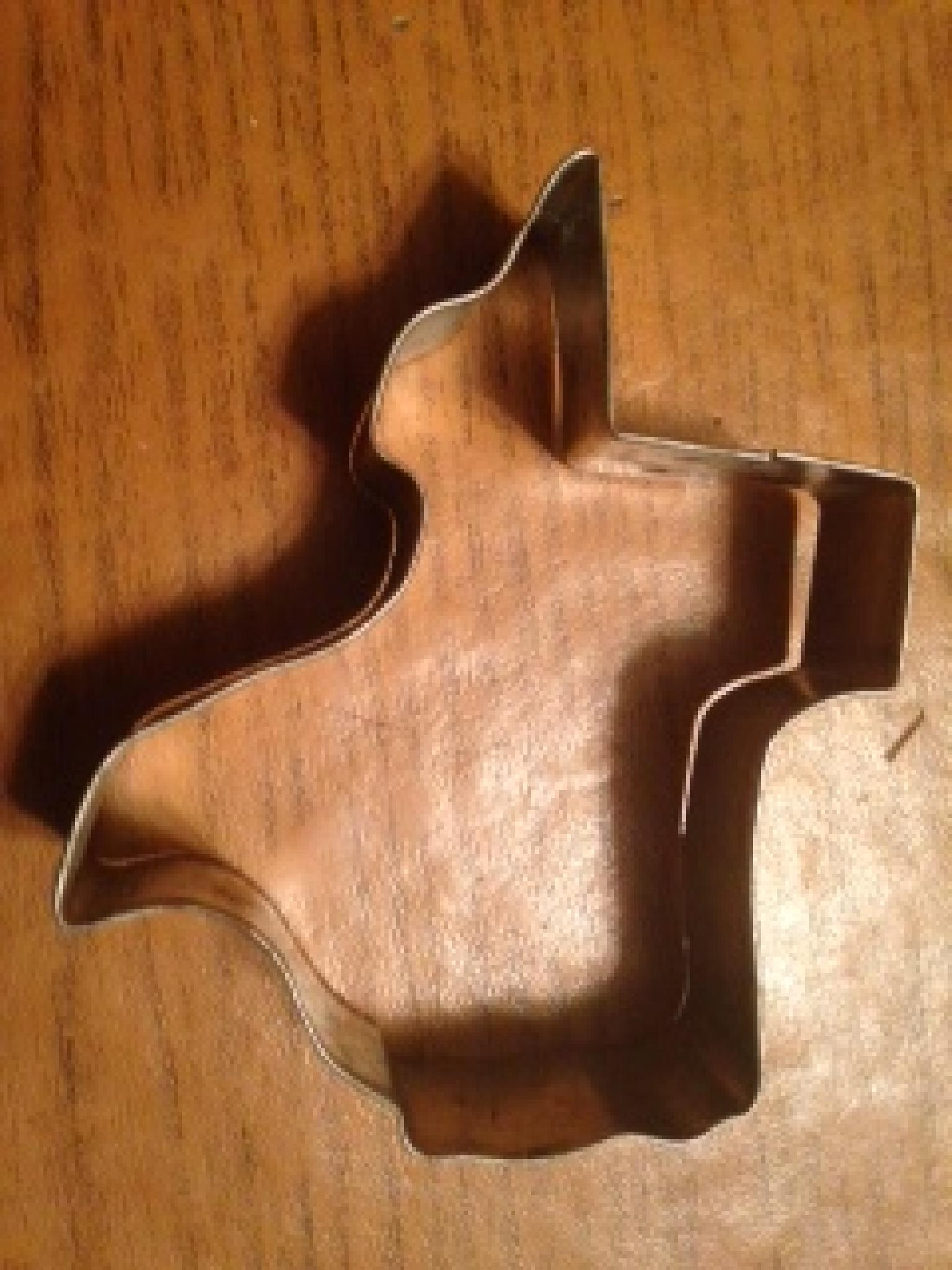 A Tin Cookie Cutter by Kit
