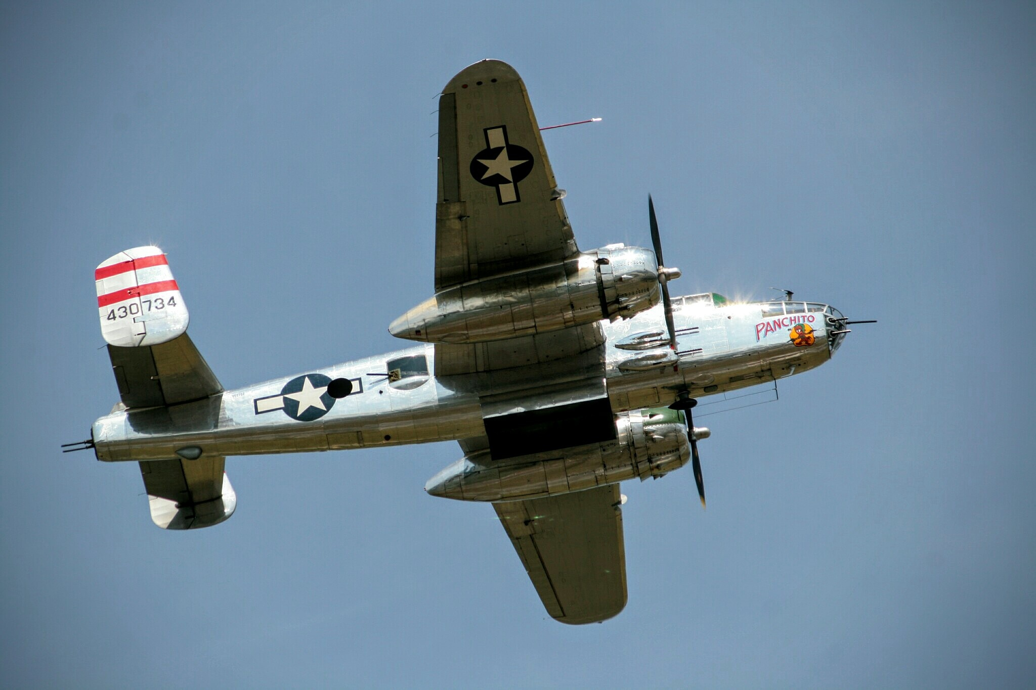 """""""Panchito"""" B25 Mitchell bomber by Jim Sugrue"""