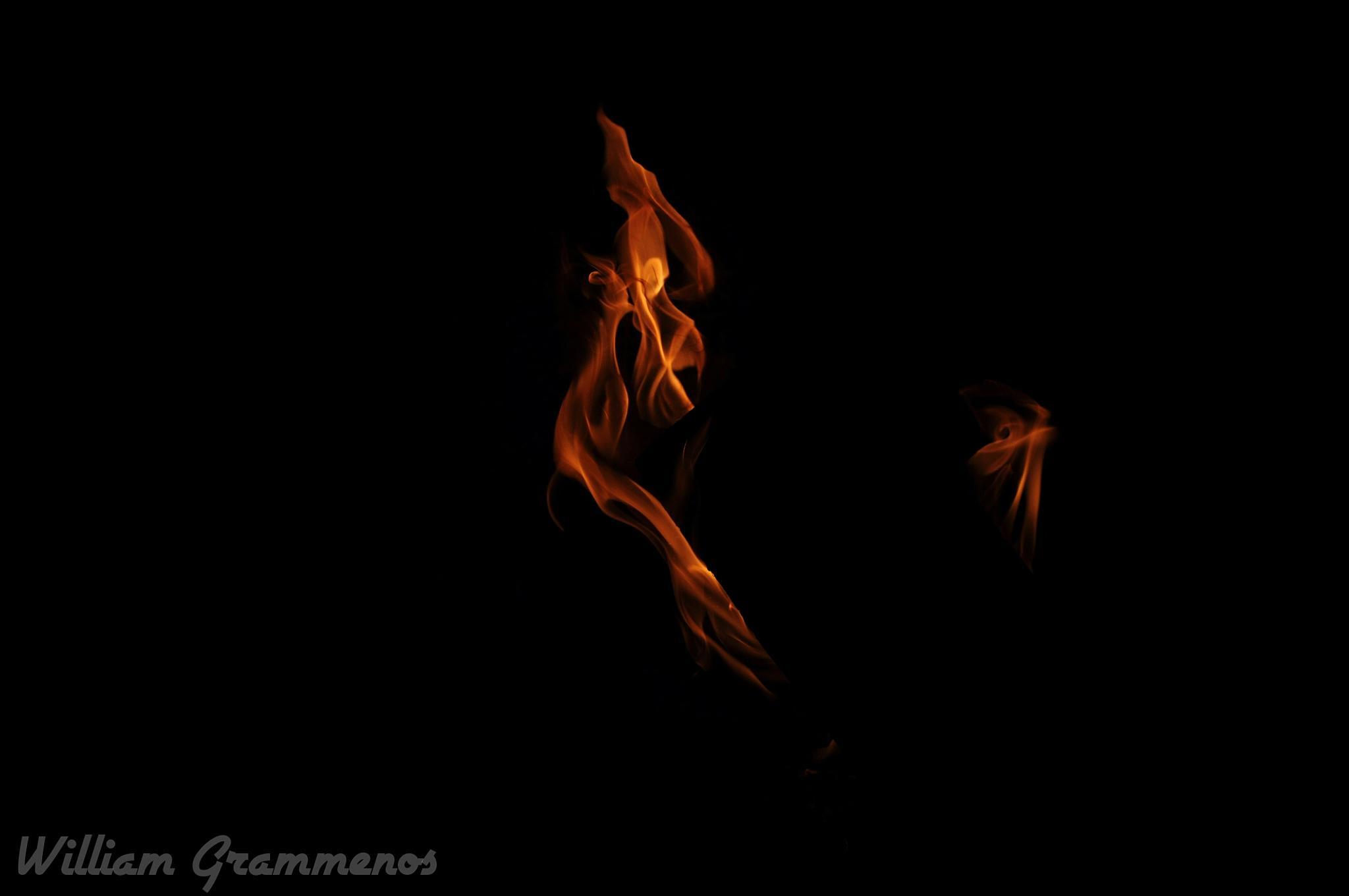 Dancing Fire by William Grammenos