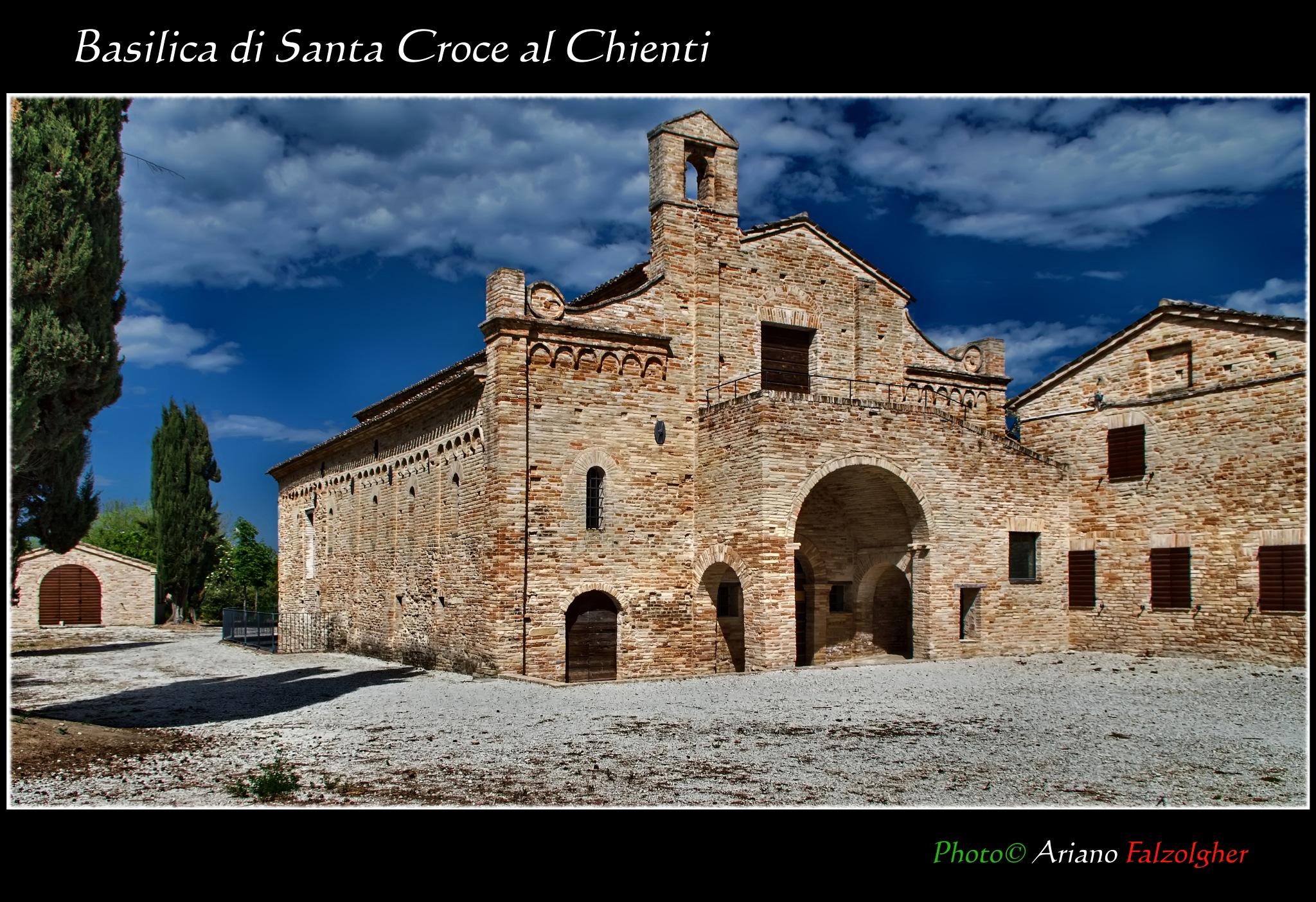 Basilica imperiale di Santa Croce al Chienti by Ariano Falzolgher