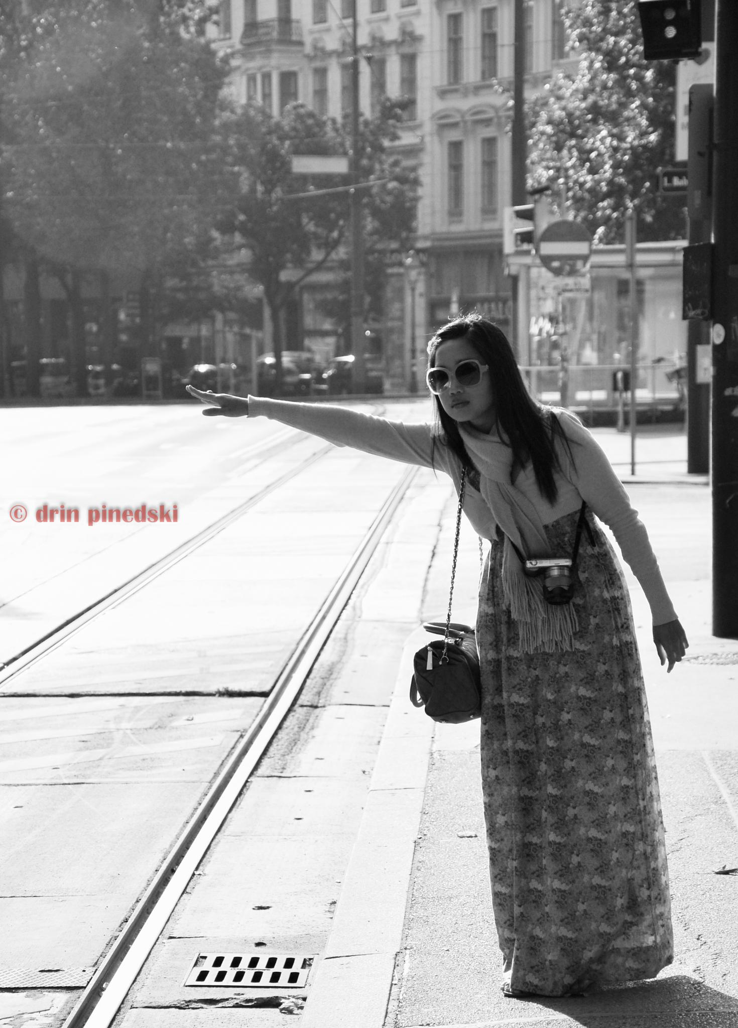 Tram Stop? by Drin Pinedski