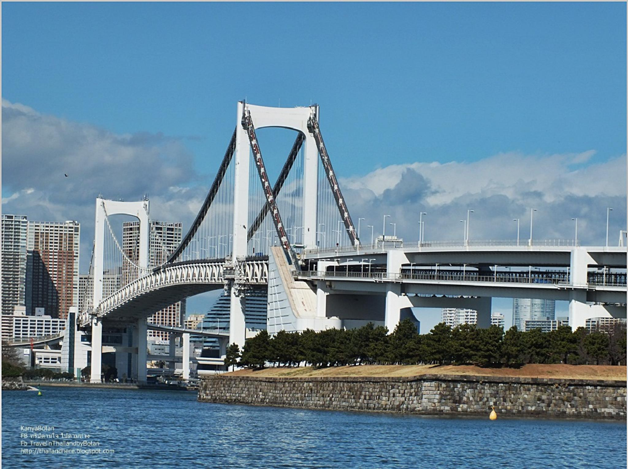 Rainbow Bridge Japan. by KanyaBotan