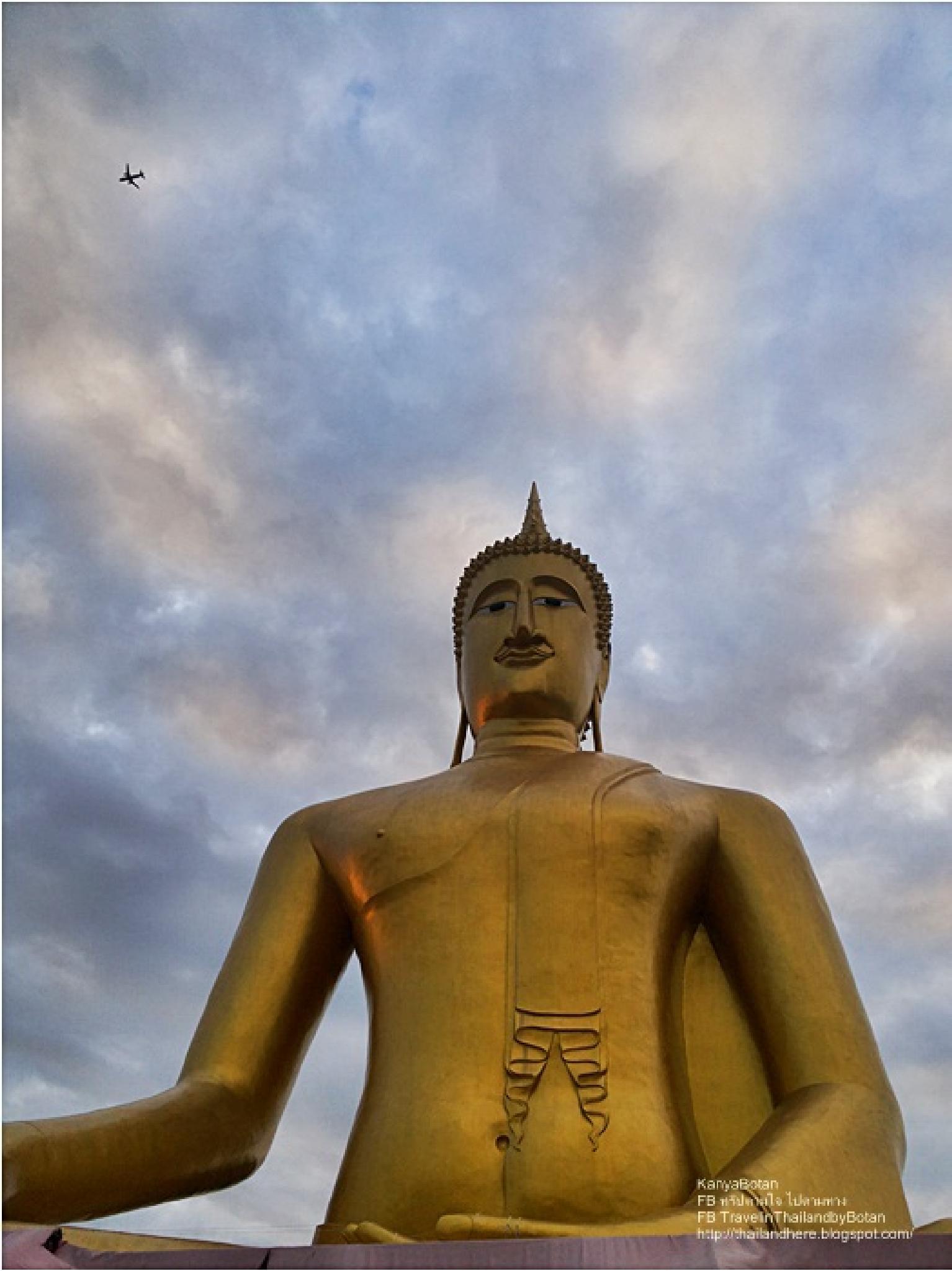 Wat Bang Jak at Pak-Kret in Nonthaburi Thailand. by KanyaBotan