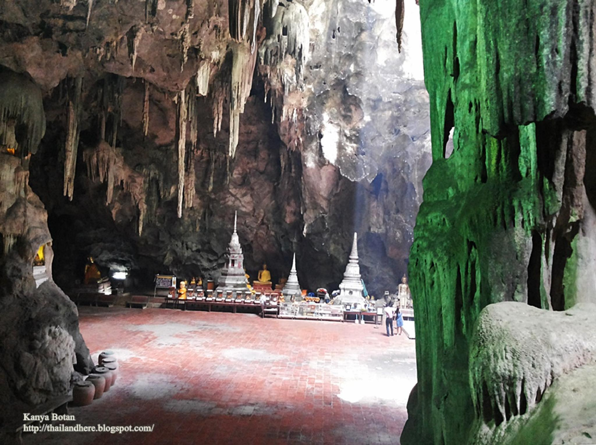 Photo in Landscape #cave #buddha #temple #thailand