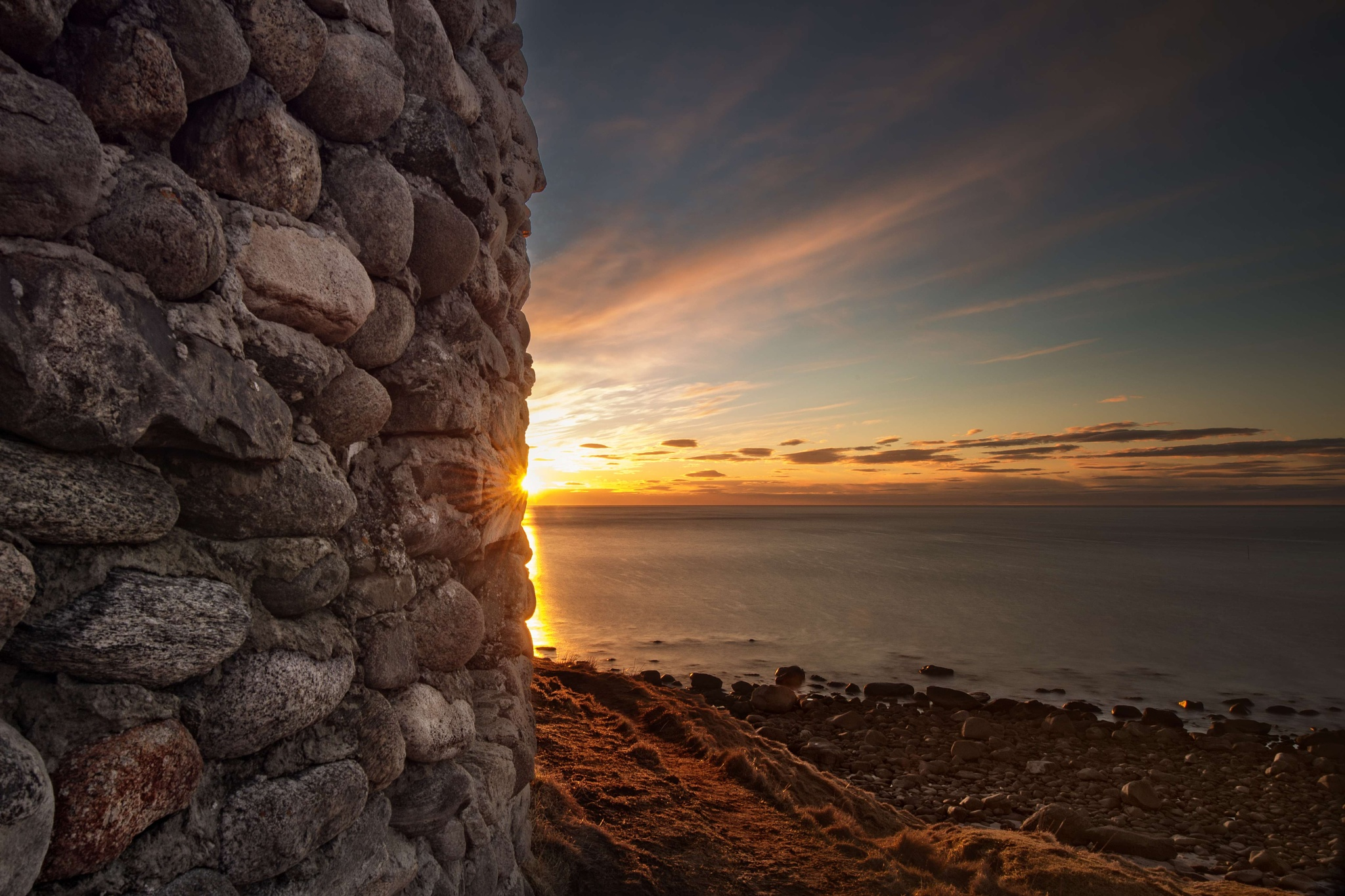 Sunset at Eggum, Lofoten by catoh2