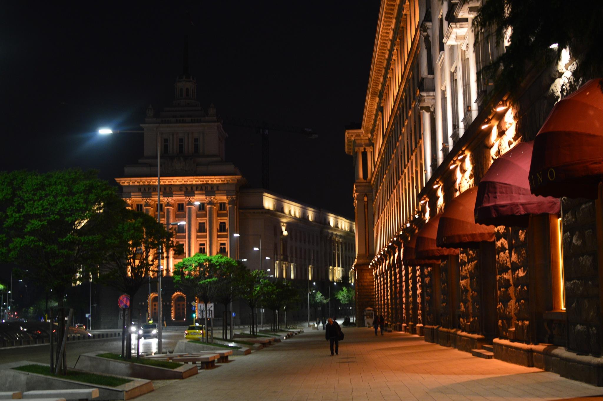 City at night  by petya.angelova.9