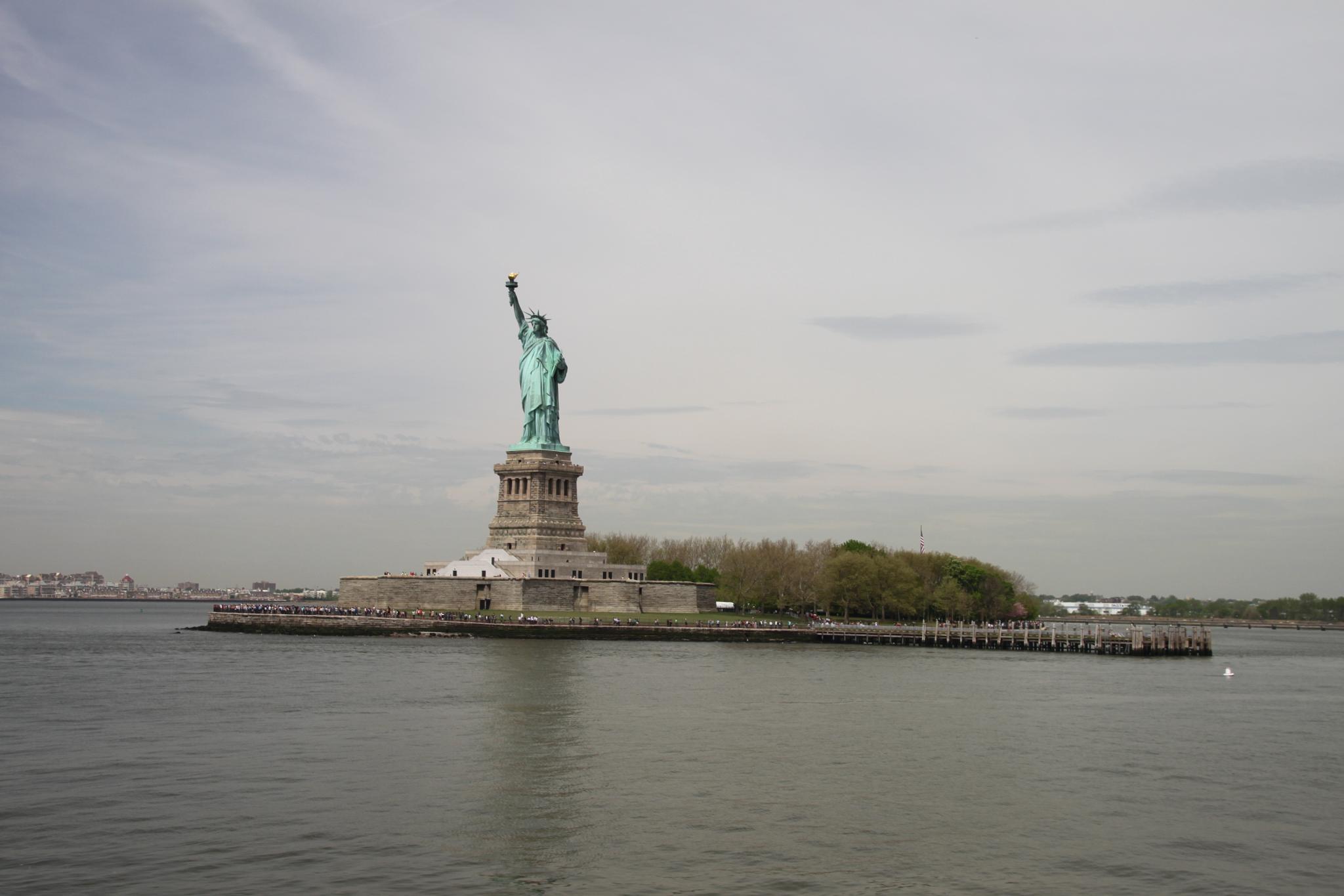 Liberty Island by Johnny B. Goode Rasmussen