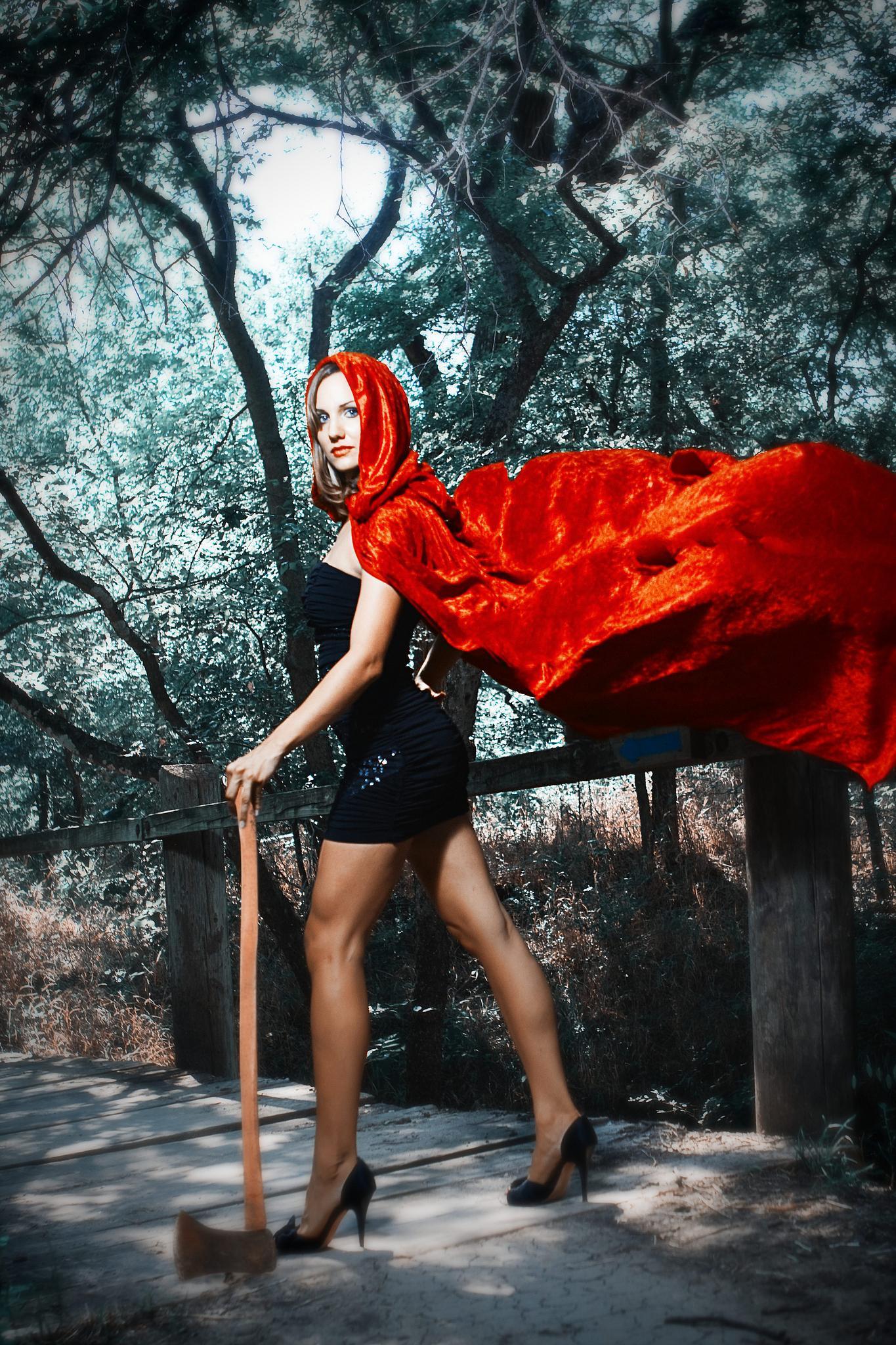 Red Hood by Rosales Studio