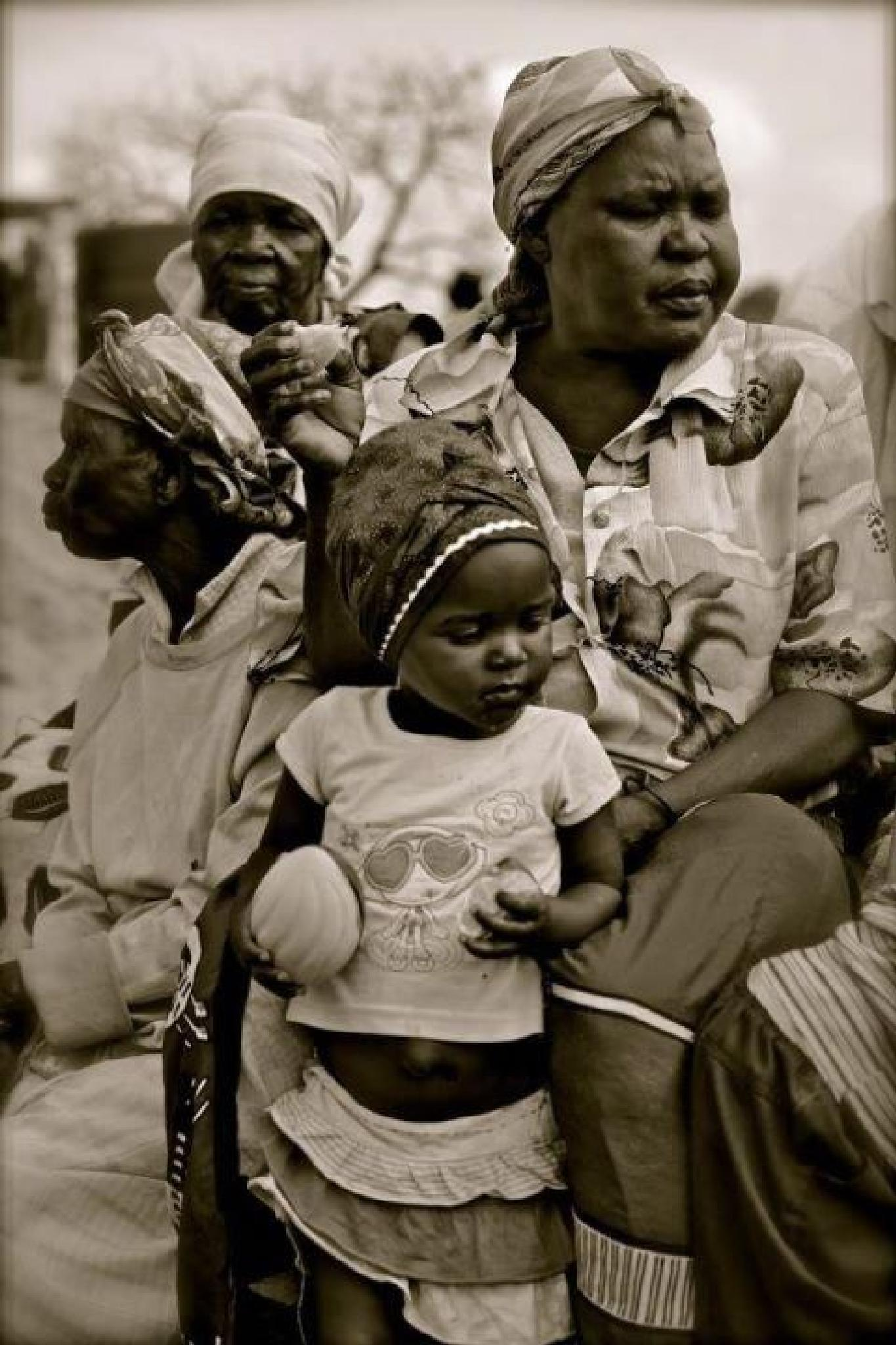 A Girls Life in Swaziland by Mark Jacobs