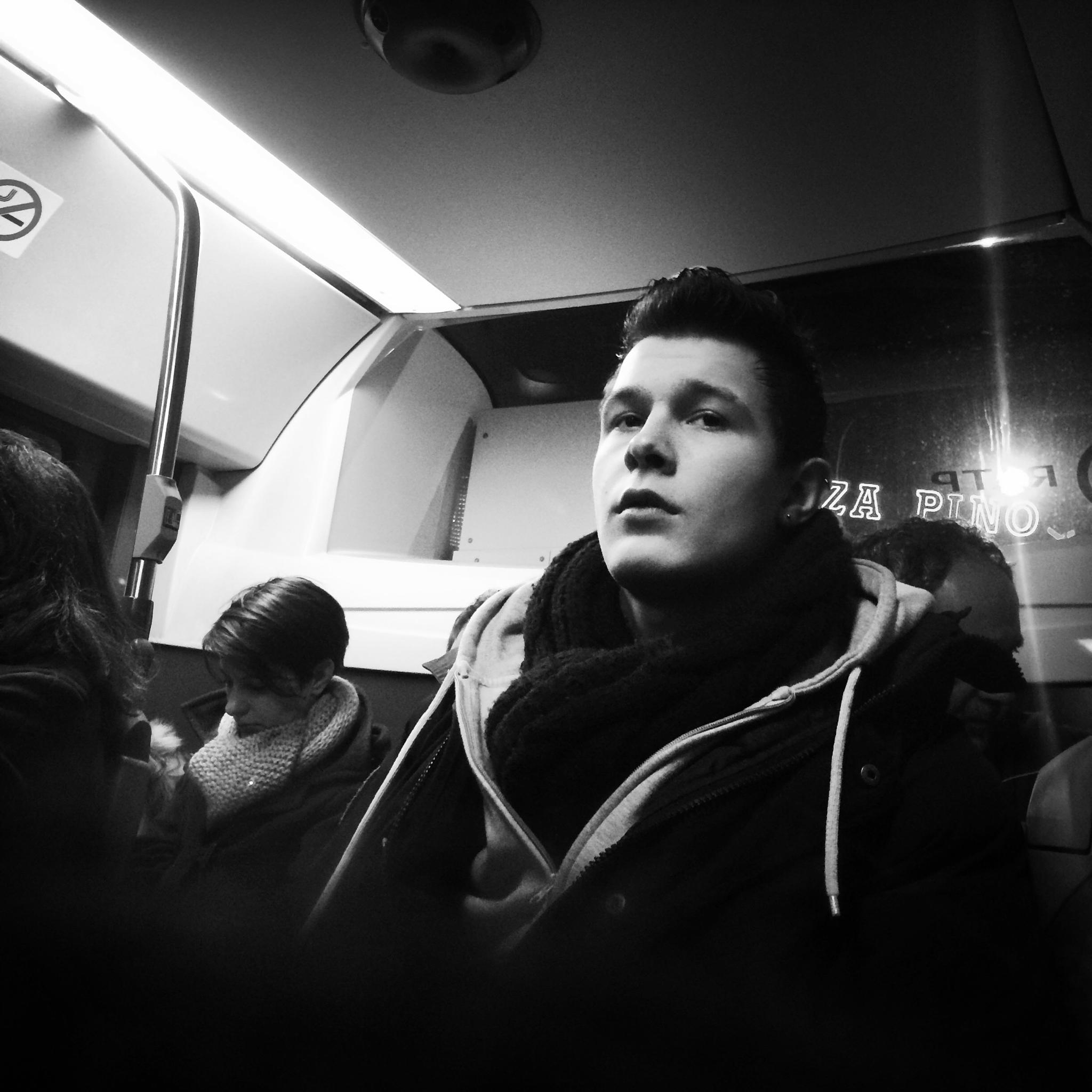On the bus by parisfind
